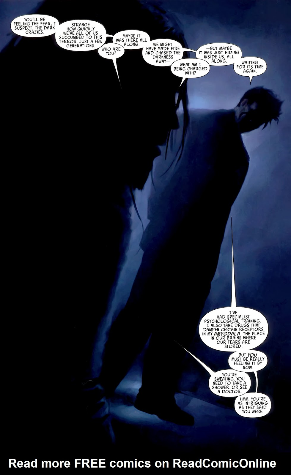 Read online After Dark comic -  Issue #0 - 14