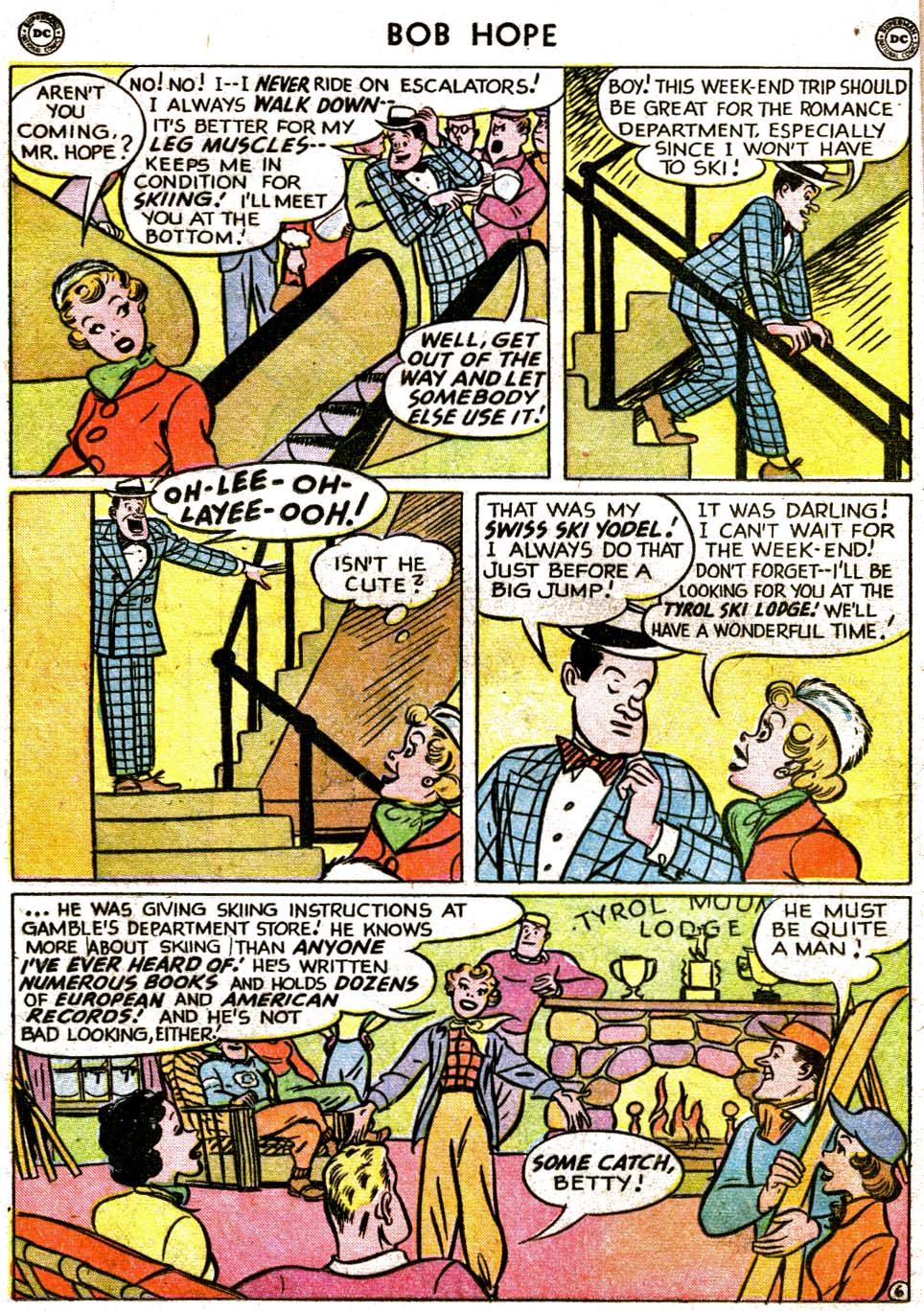 The Adventures of Bob Hope issue 1 - Page 22