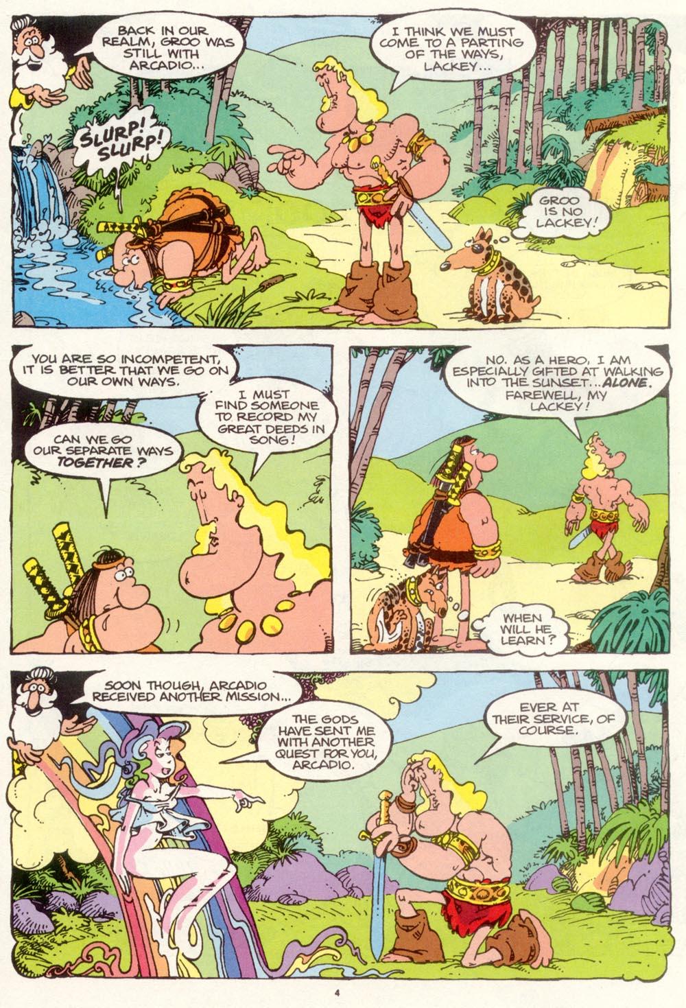 Read online Sergio Aragonés Groo the Wanderer comic -  Issue #97 - 5
