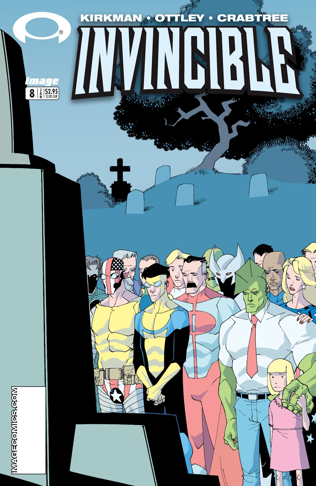 Invincible (2003) 8 Page 1