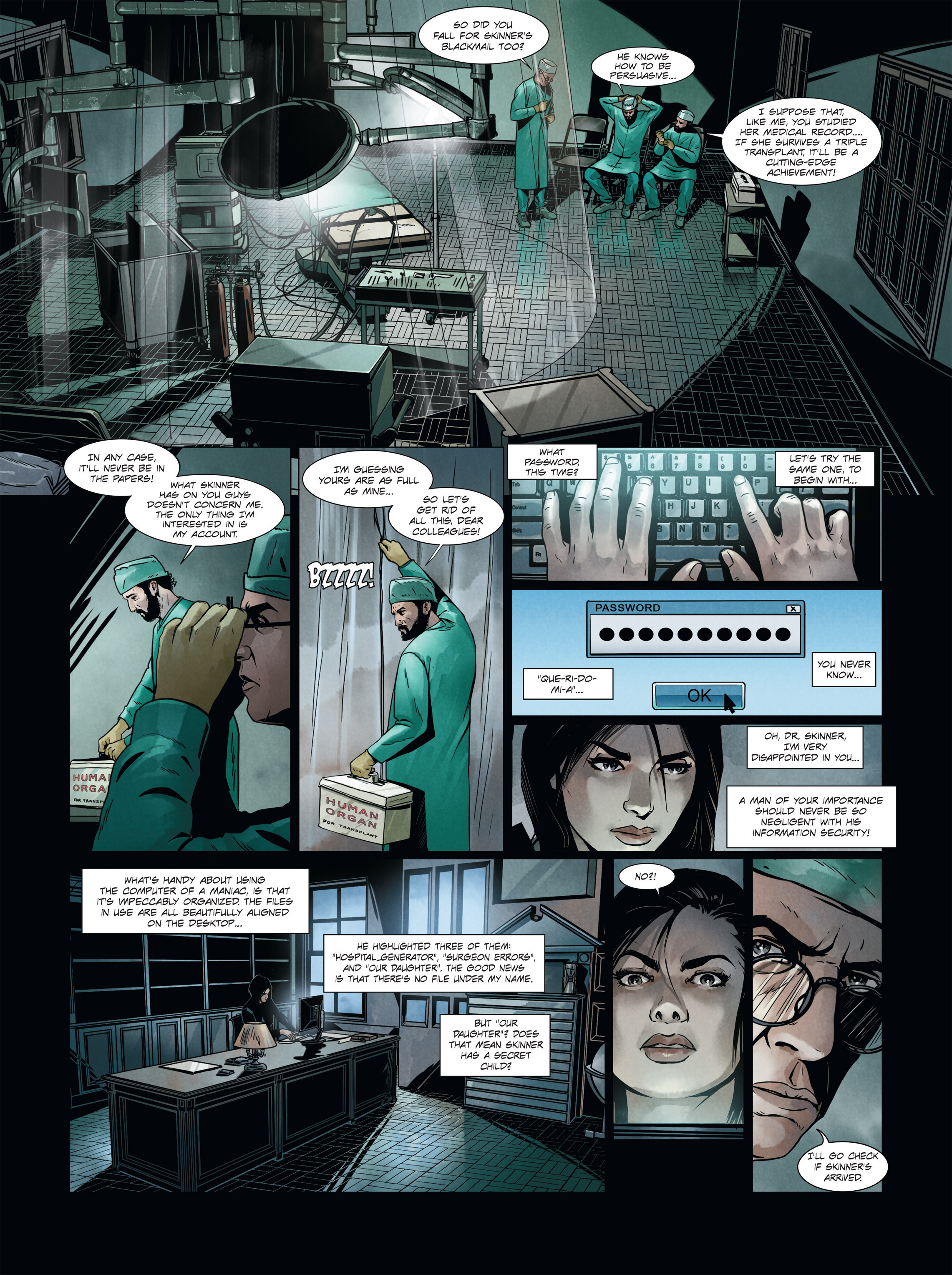 Read online Alice Matheson comic -  Issue #4 - 38