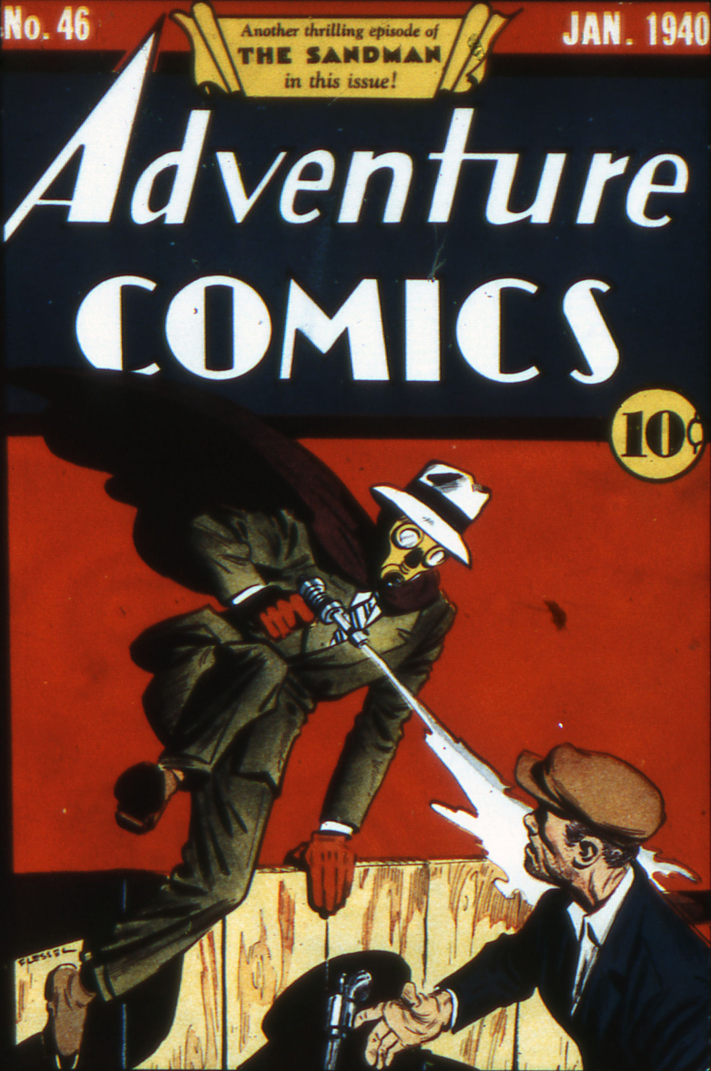 Read online Adventure Comics (1938) comic -  Issue #46 - 1