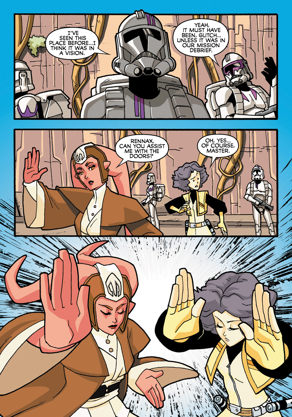 Read online Star Wars: The Clone Wars - Defenders of the Lost Temple comic -  Issue # Full - 9