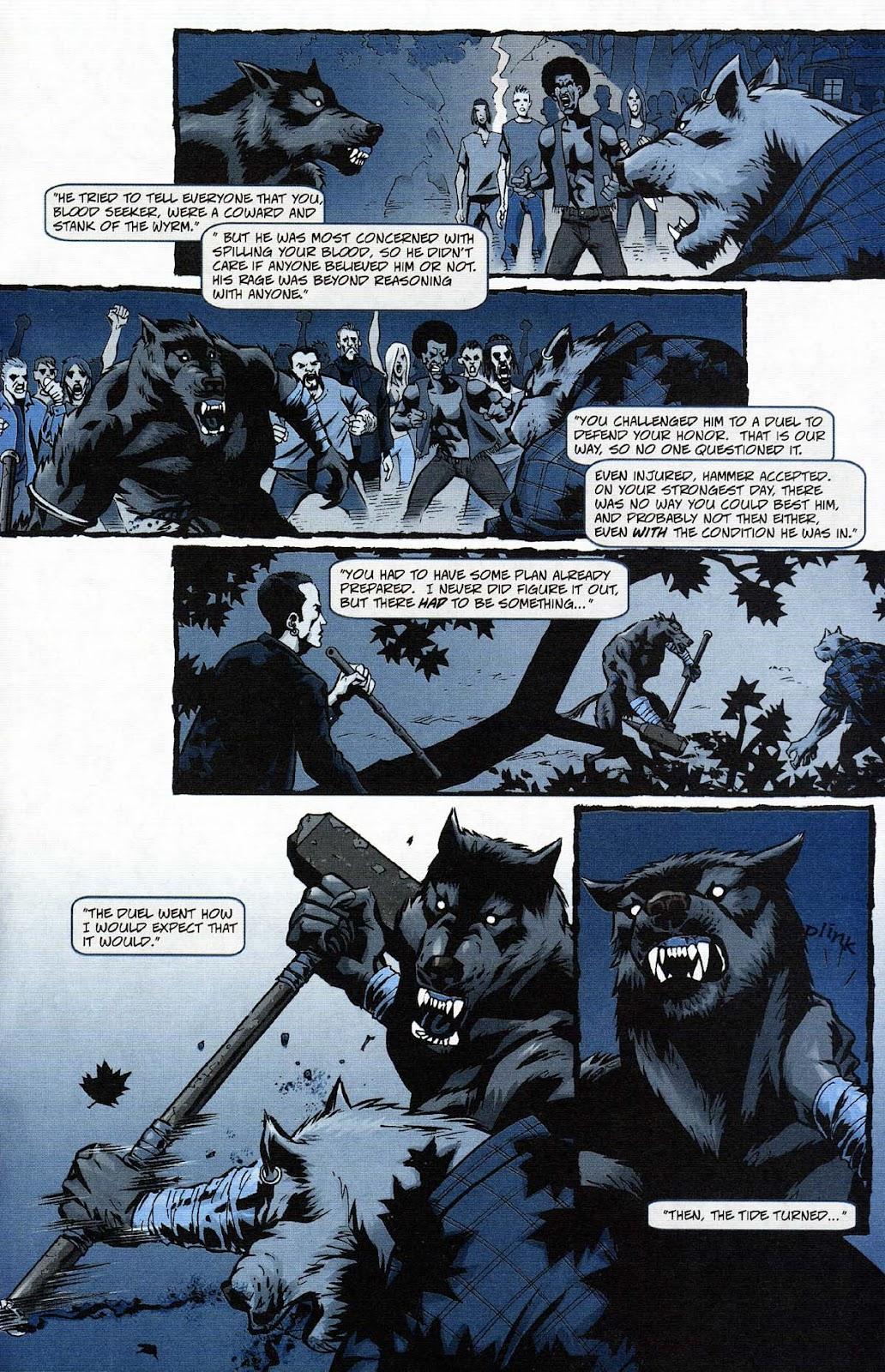 Read online Werewolf the Apocalypse comic -  Issue # Get of Fenris - 25