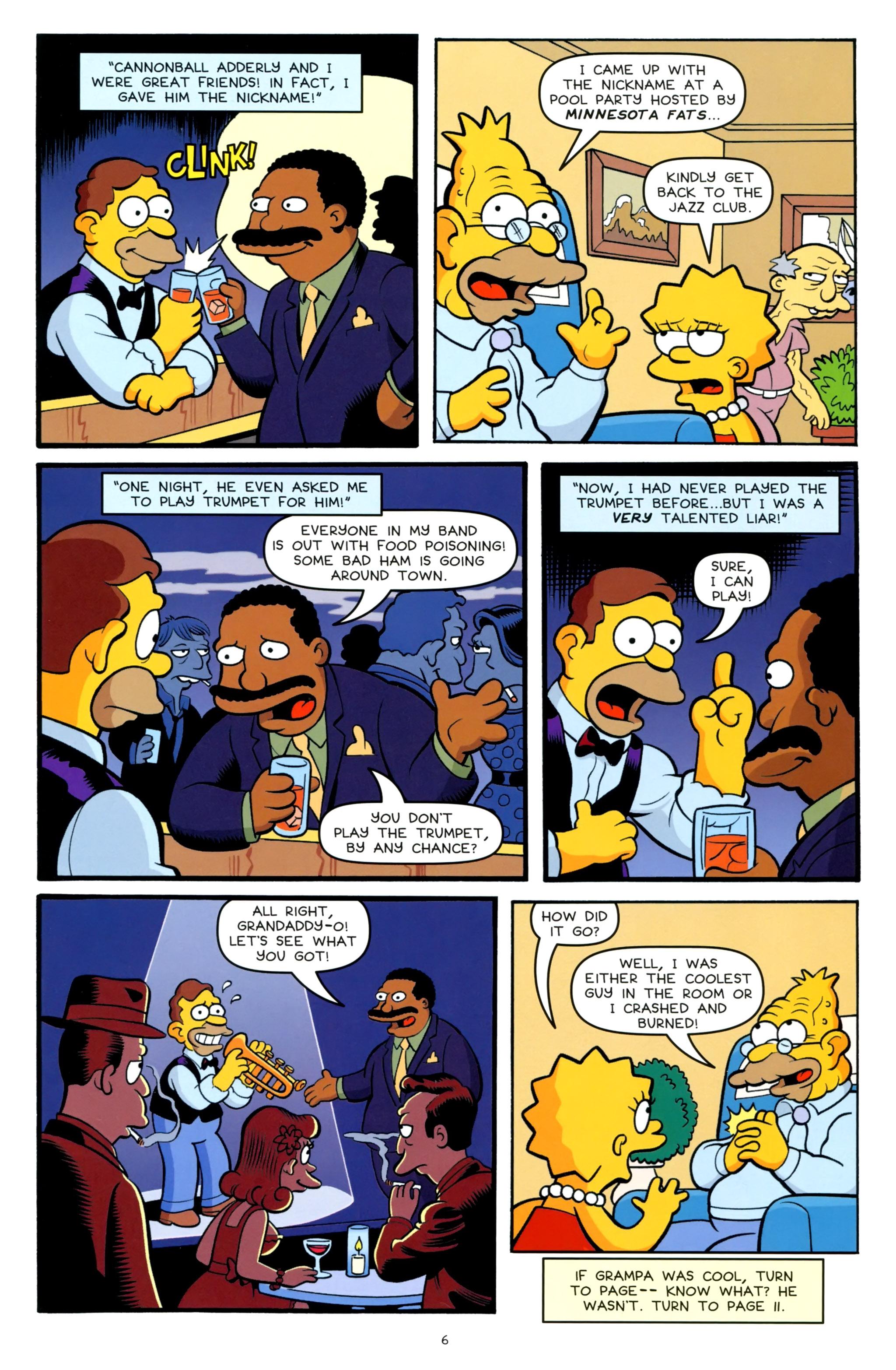 Read online Simpsons One-Shot Wonders: Grampa comic -  Issue # Full - 8