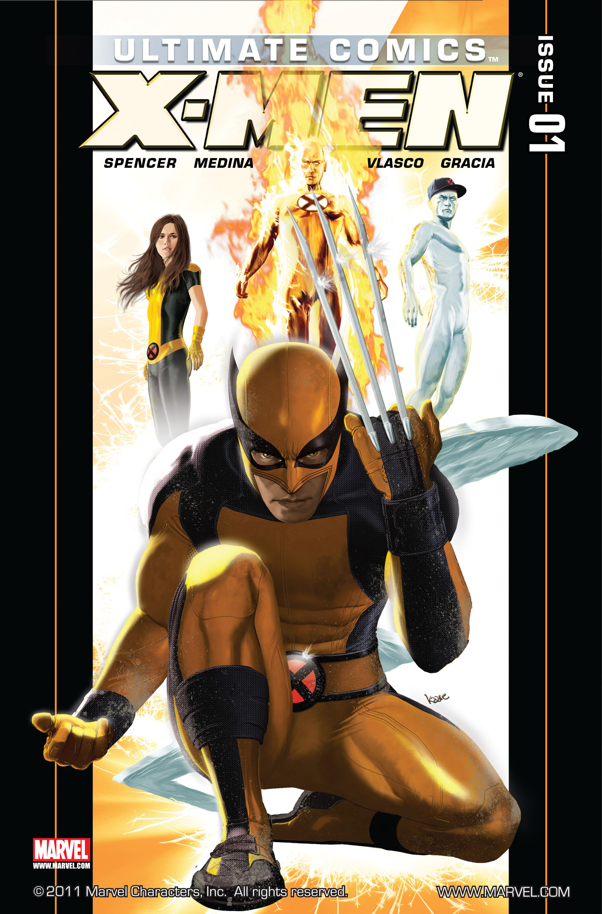 Read online Ultimate Comics X-Men comic -  Issue #1 - 1