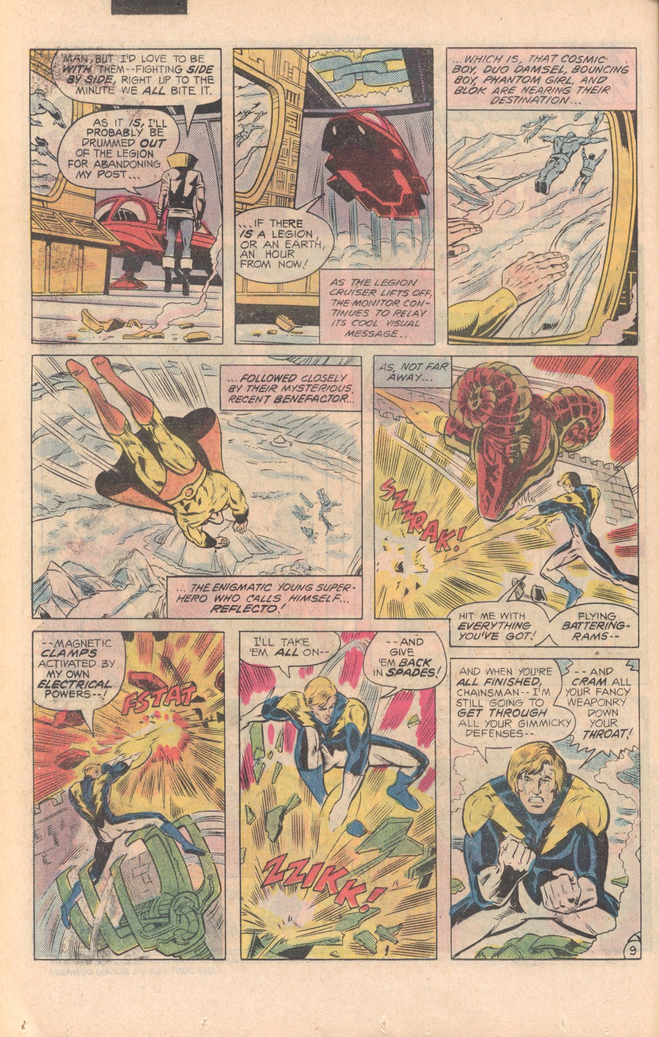 Legion of Super-Heroes (1980) 279 Page 9