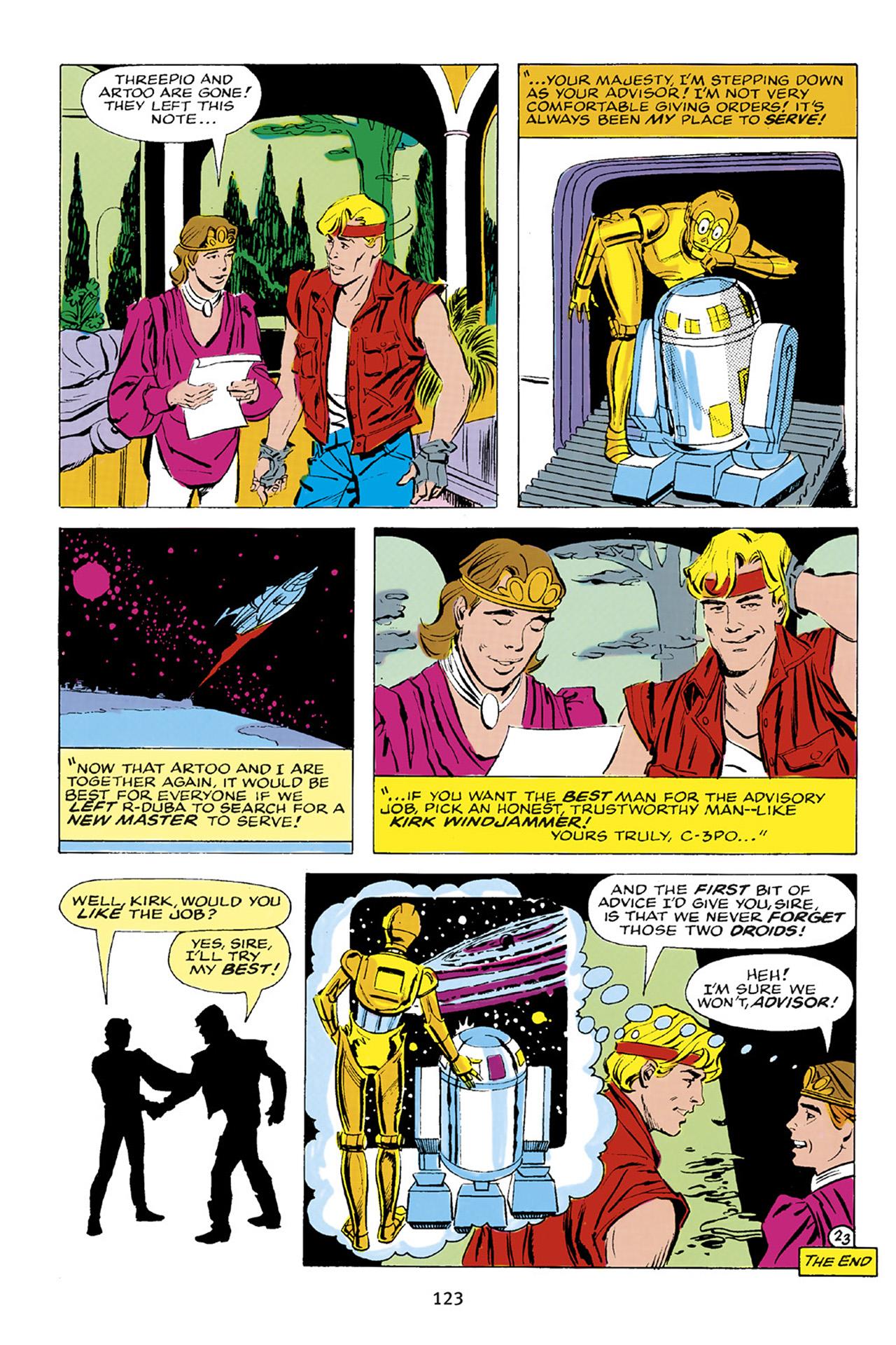 Read online Star Wars Omnibus comic -  Issue # Vol. 23 - 122