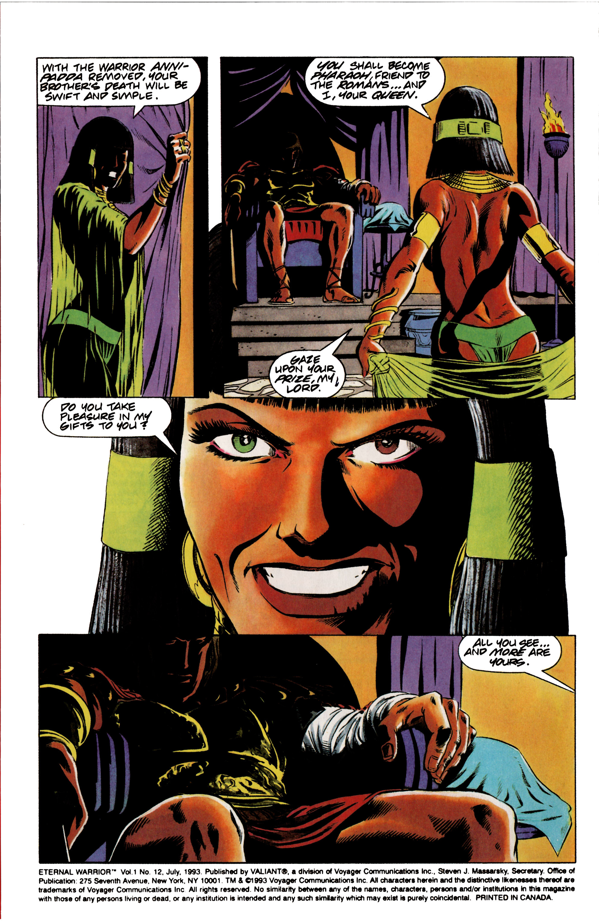 Read online Eternal Warrior (1992) comic -  Issue #12 - 3