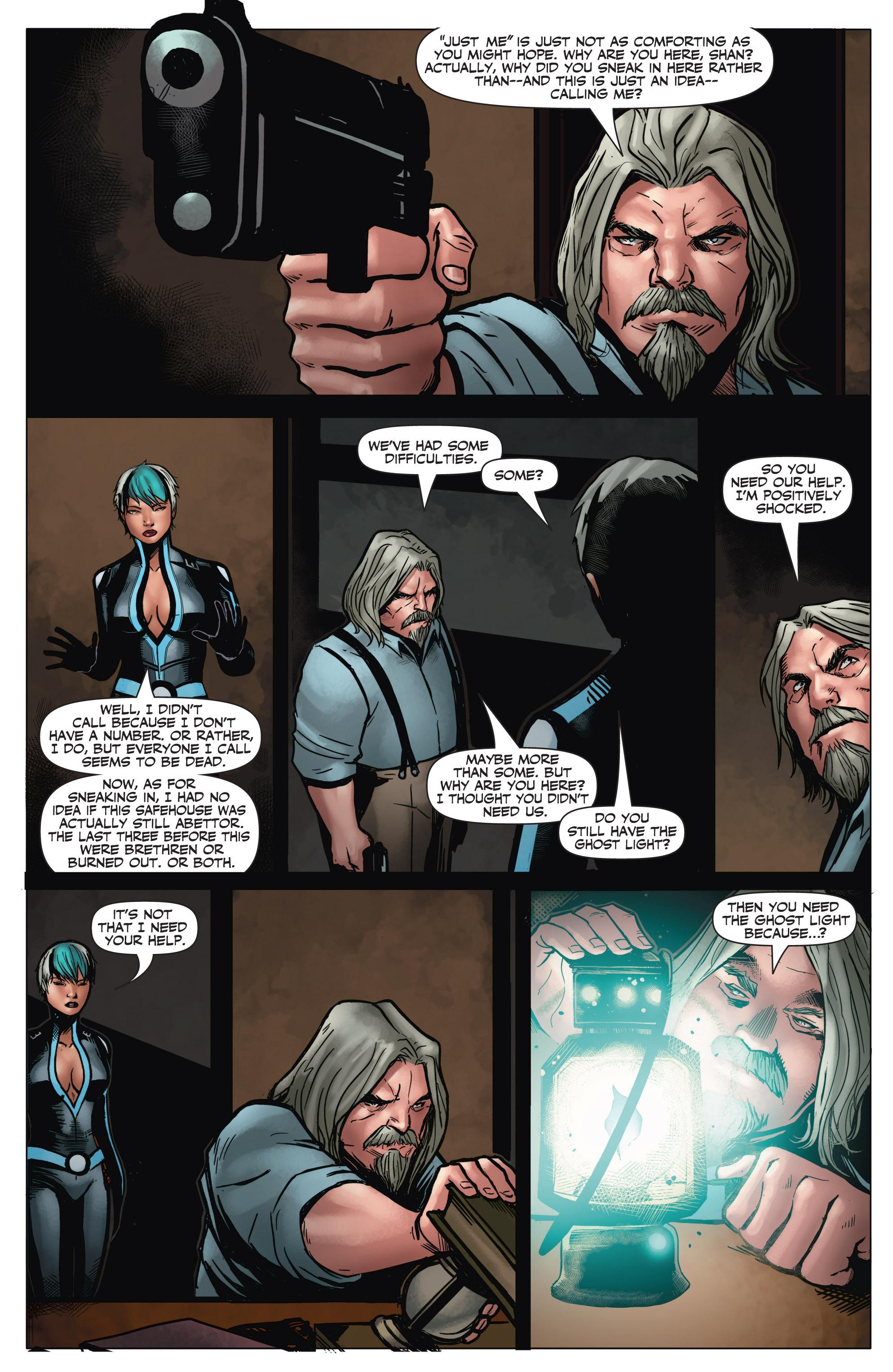 Read online Shadowman (2012) comic -  Issue #6 - 13
