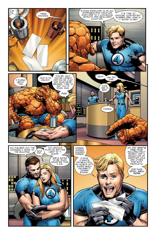 Read online Fantastic Four: Season One comic -  Issue # TPB - 121
