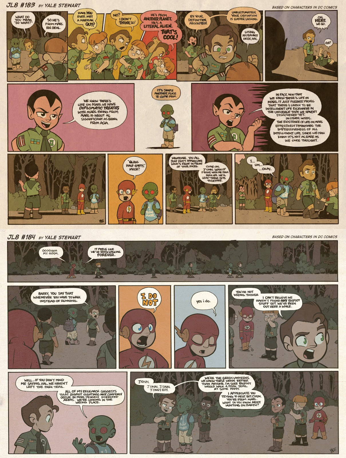 Read online JL8 – The Complete Collection comic -  Issue # TPB (Part 1) - 96