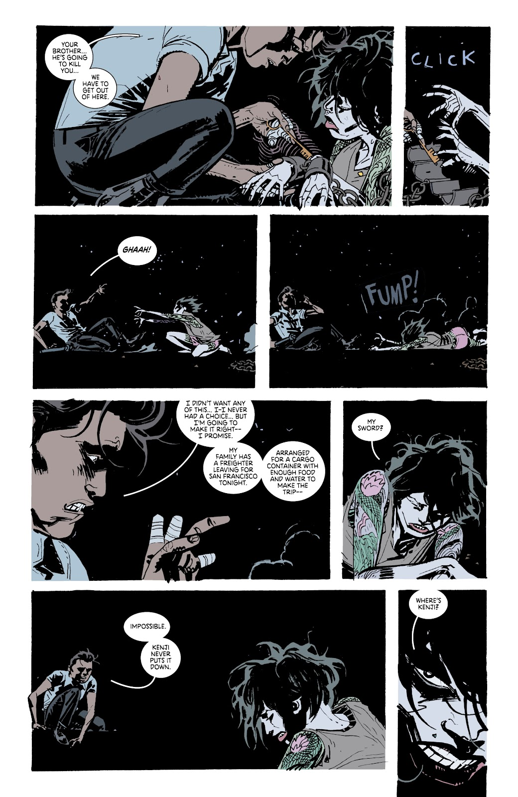Read online Deadly Class comic -  Issue #37 - 9