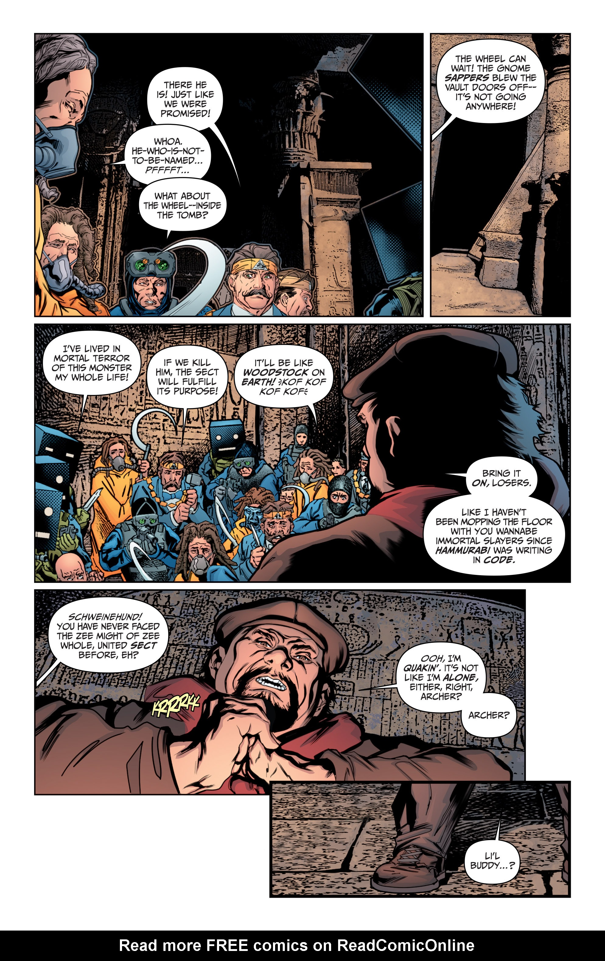 Read online Archer and Armstrong comic -  Issue #Archer and Armstrong _TPB 4 - 79
