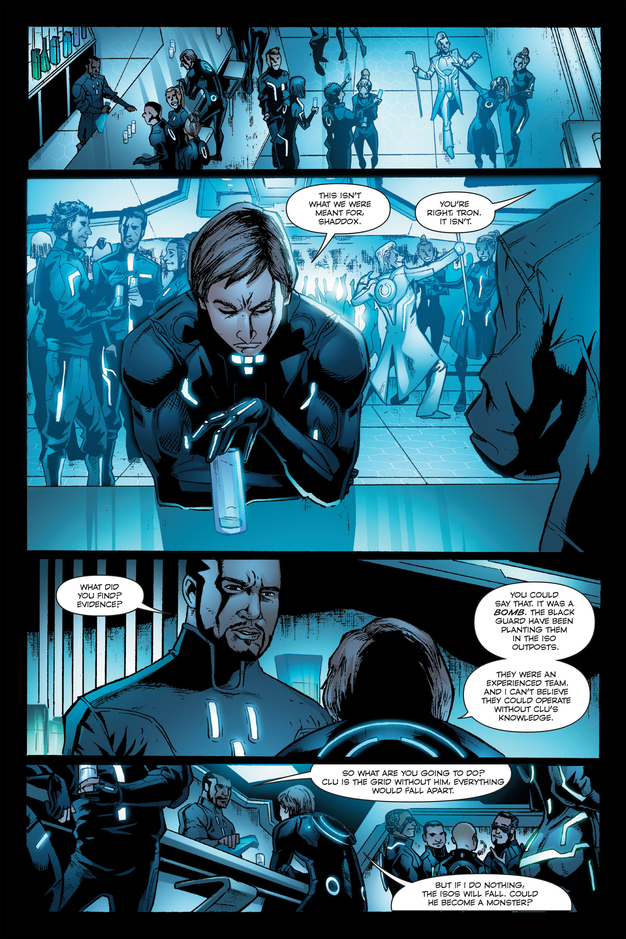 Read online TRON: Betrayal comic -  Issue # TPB - 93