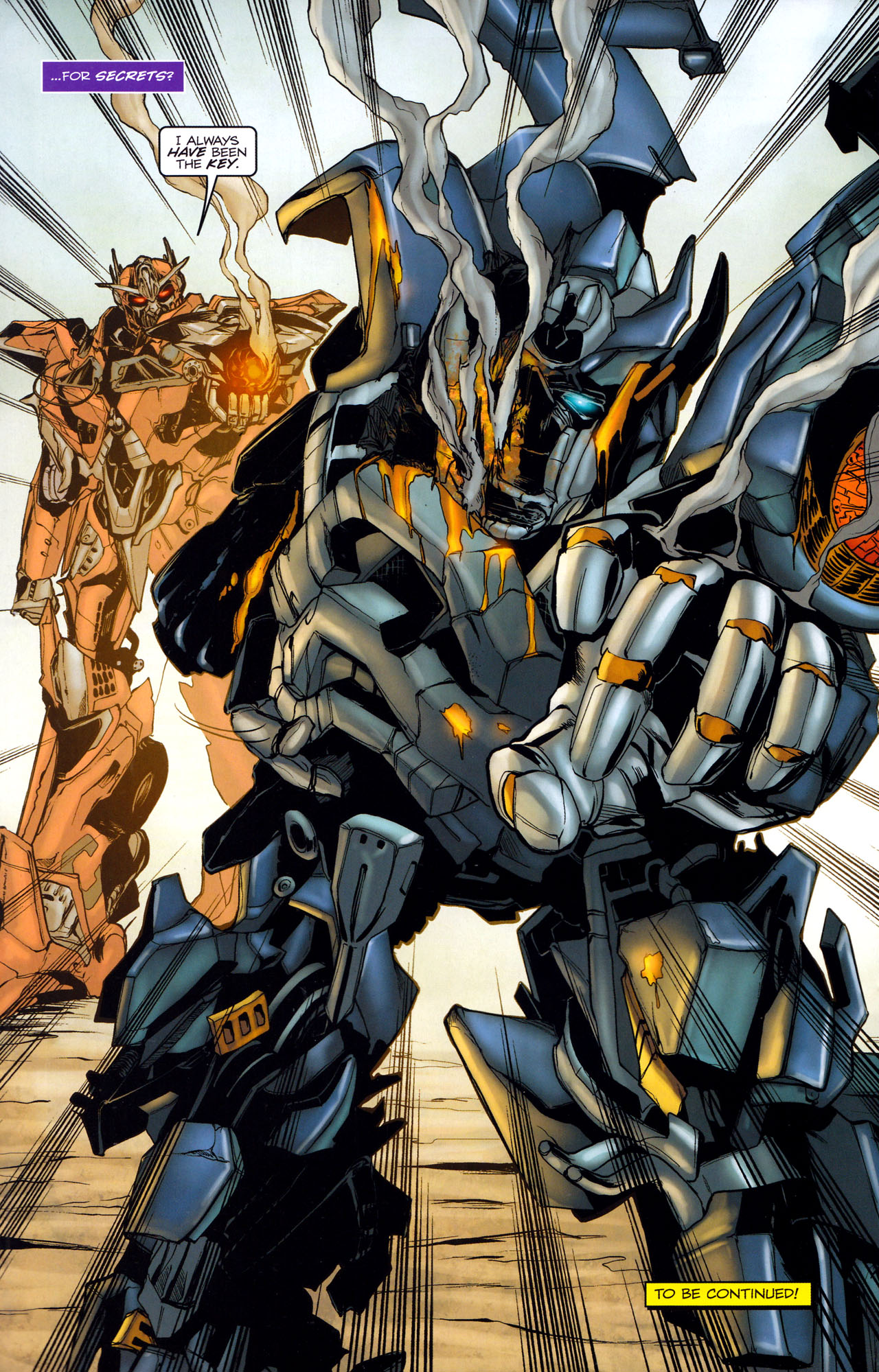 Read online Transformers: Dark of the Moon Movie Adaptation comic -  Issue #2 - 24