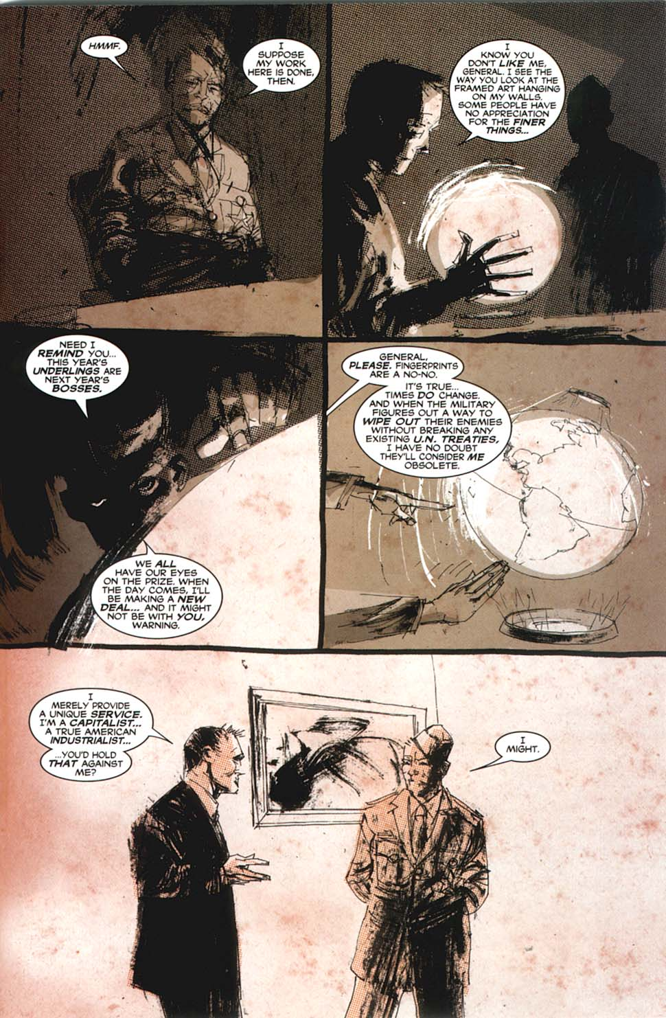 Read online Automatic Kafka comic -  Issue #8 - 18