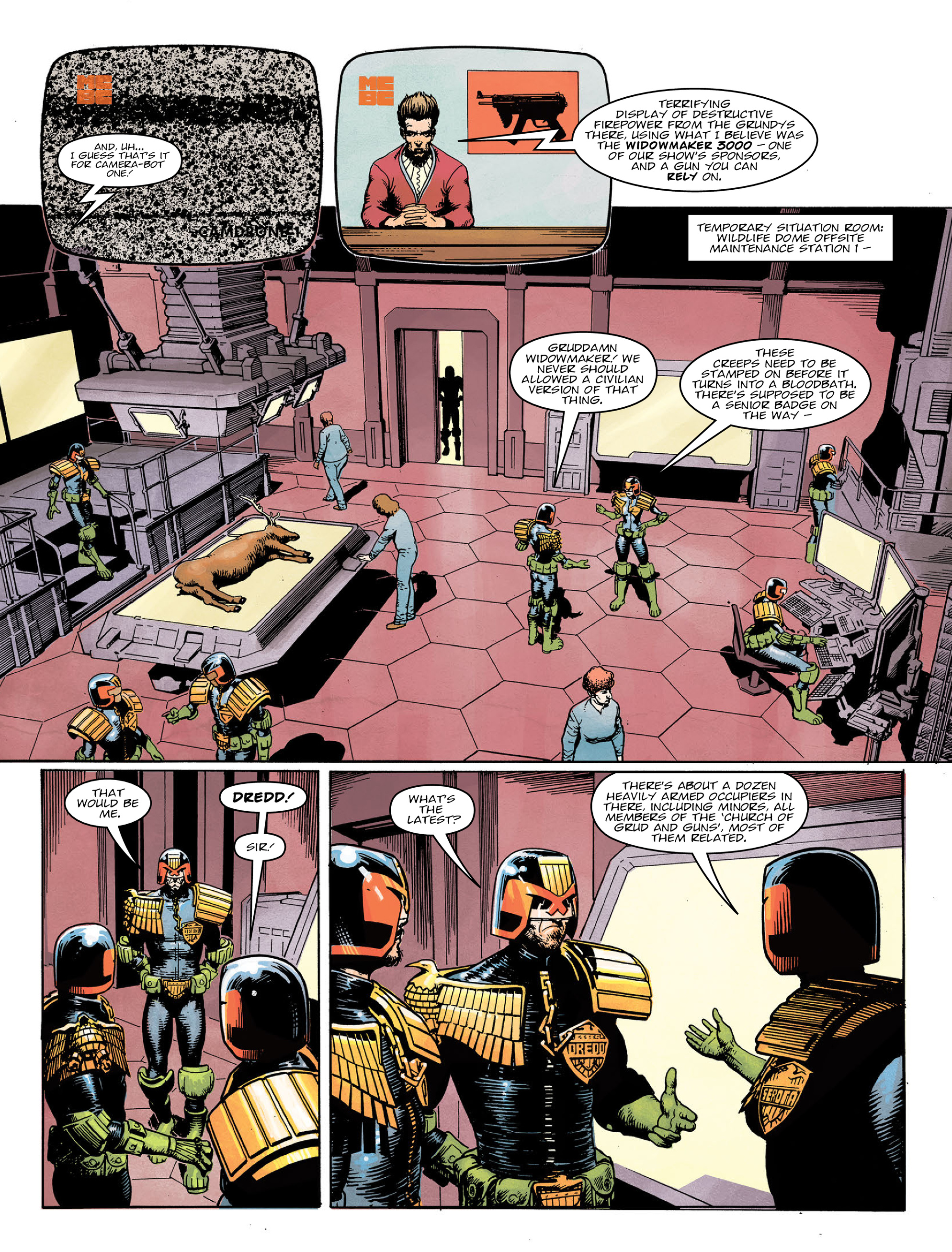 Read online 2000 AD comic -  Issue #2022 - 4