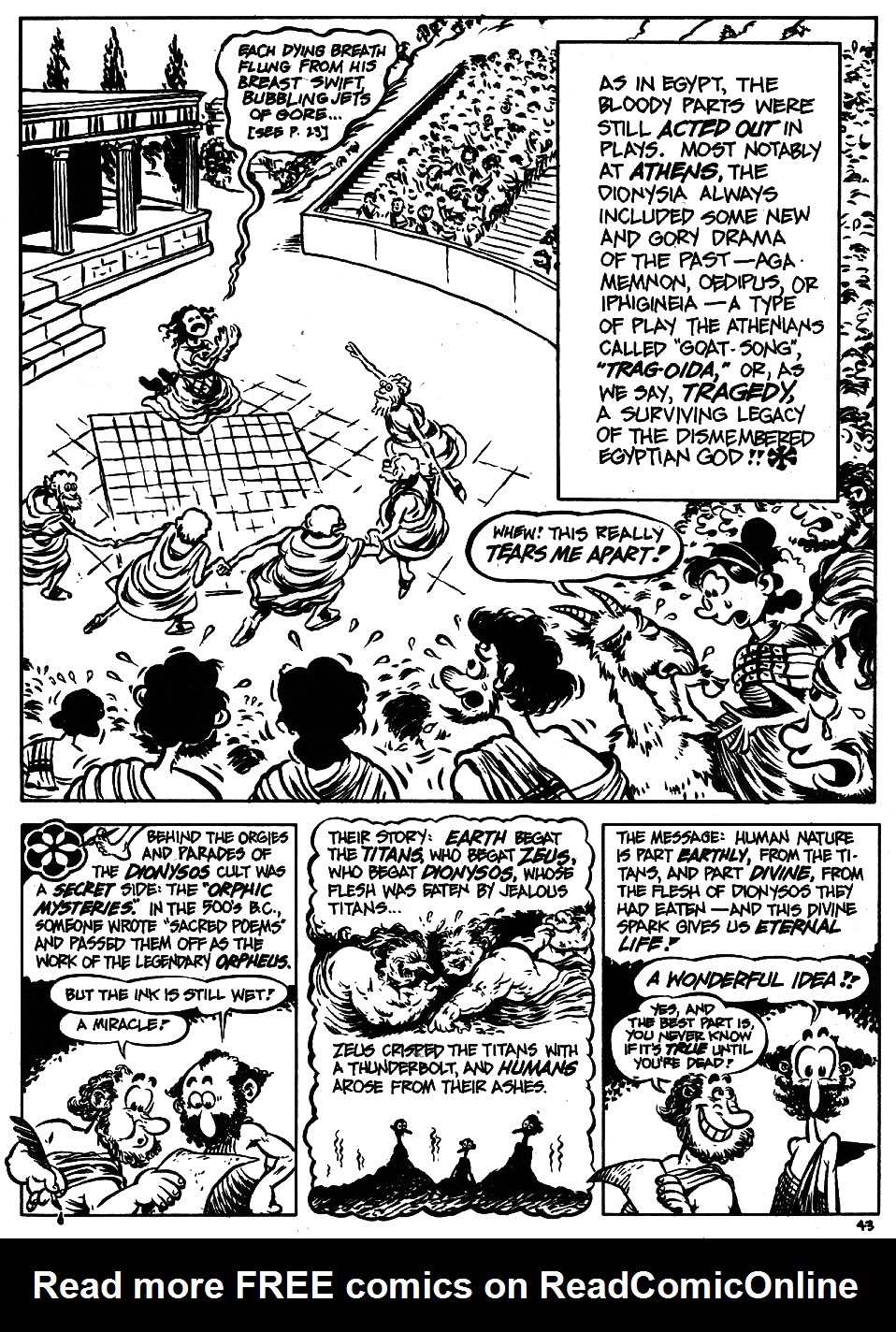 Read online The Cartoon History of the Universe comic -  Issue #5 - 45