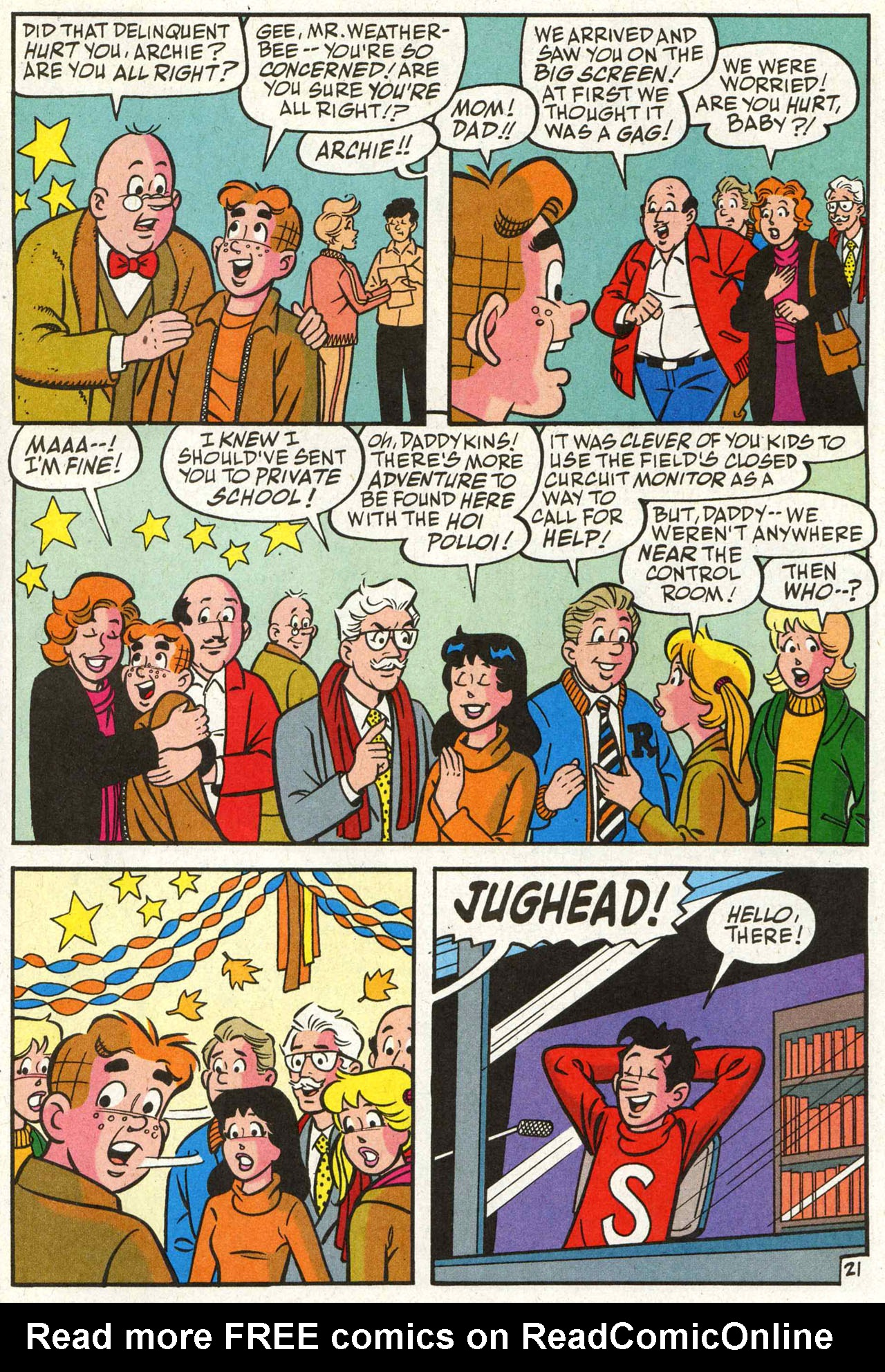 Read online Archie (1960) comic -  Issue #588 - 22