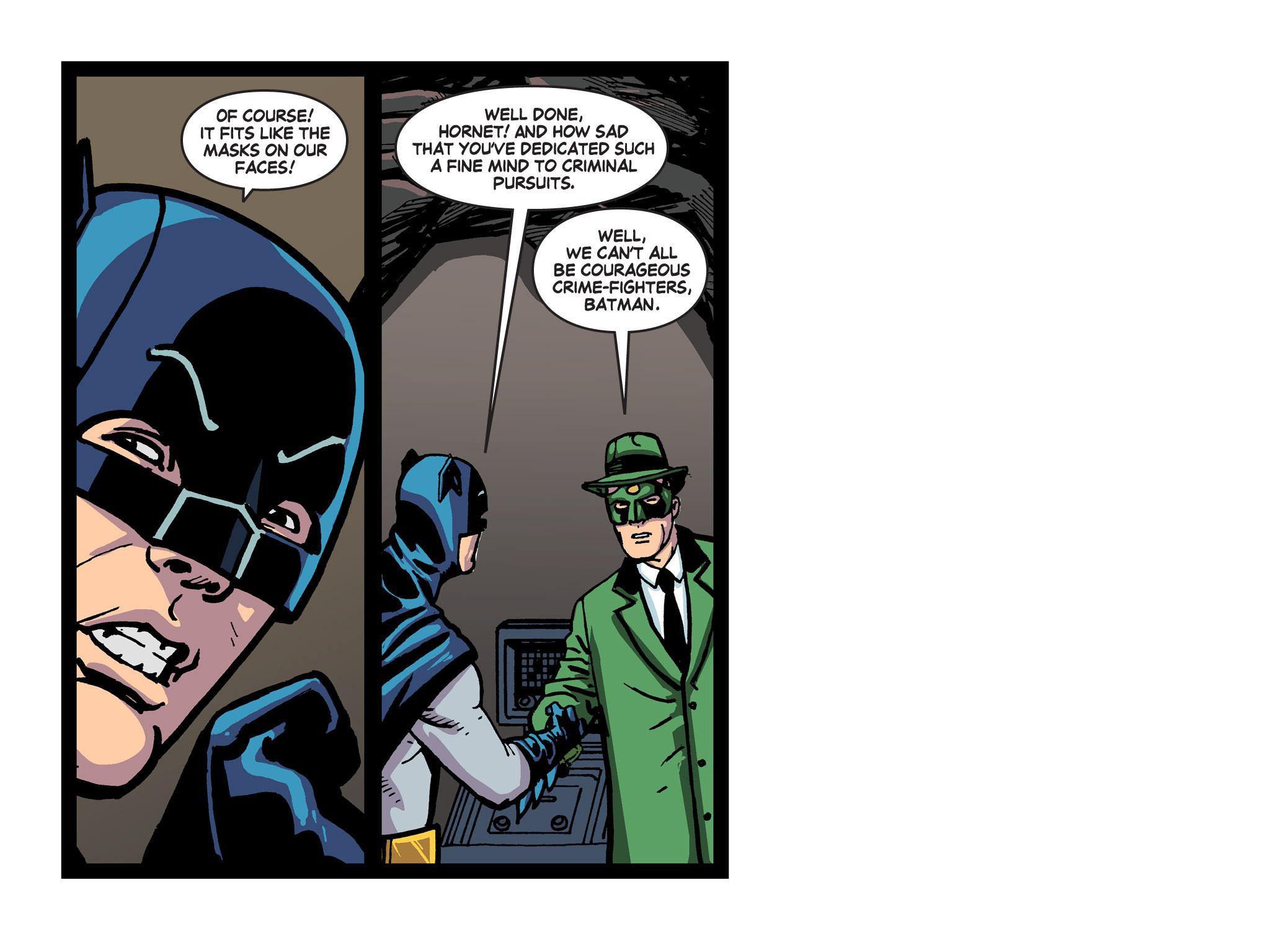 Read online Batman '66 Meets the Green Hornet [II] comic -  Issue #5 - 71