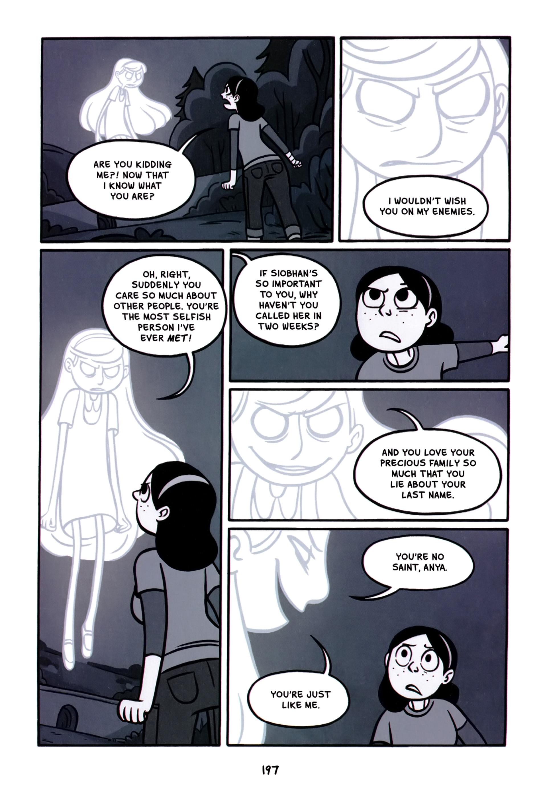 Read online Anya's Ghost comic -  Issue #1 - 198