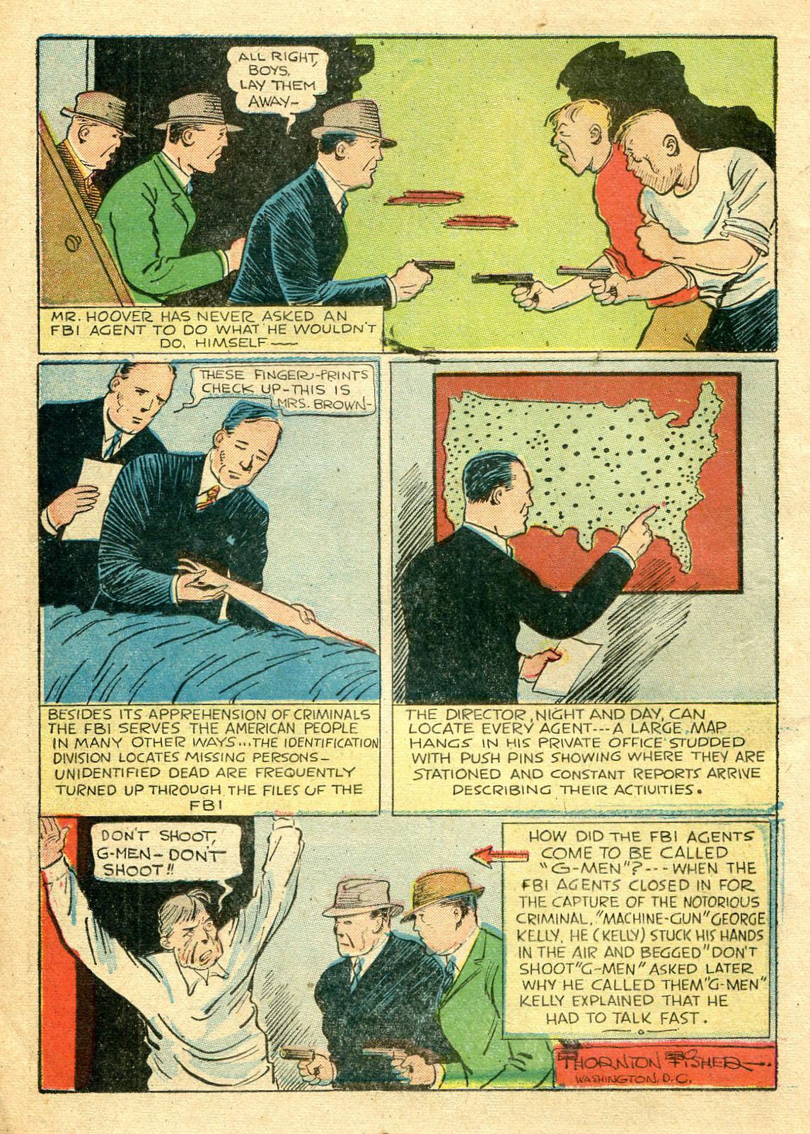 Read online Shadow Comics comic -  Issue #44 - 23