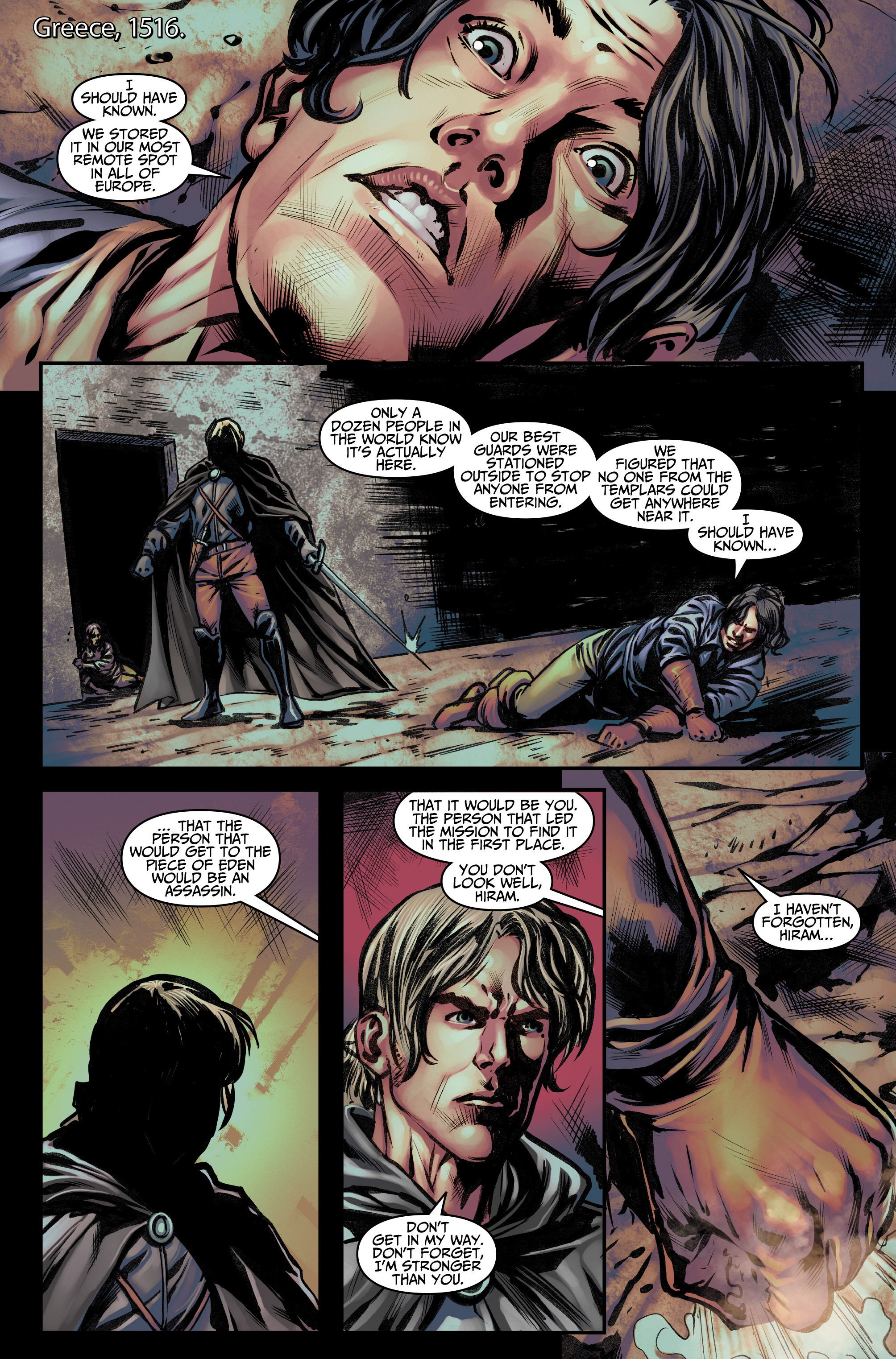 Read online Assassin's Creed (2015) comic -  Issue #12 - 3