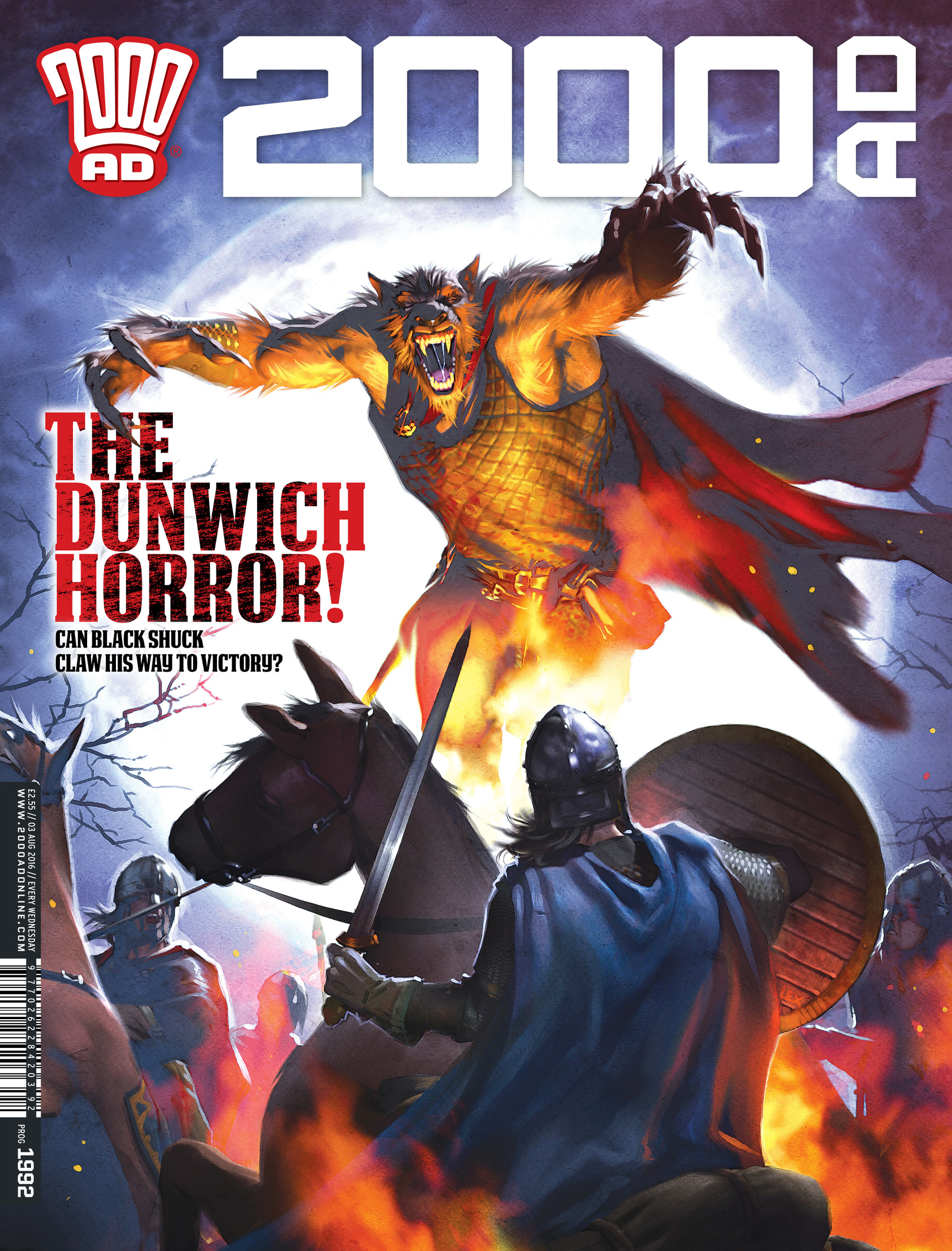 Read online 2000 AD comic -  Issue #1992 - 1