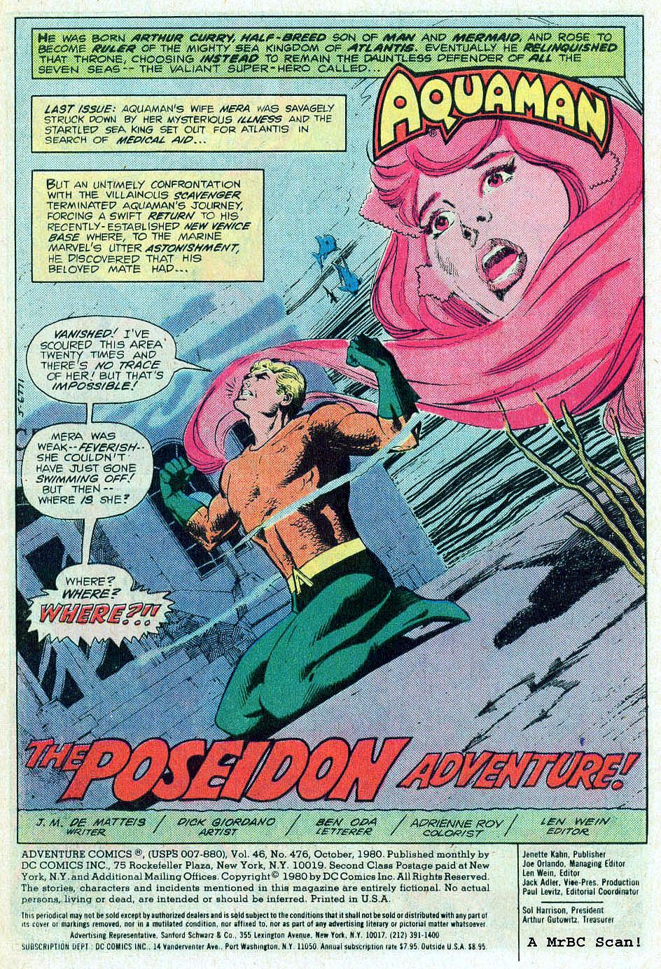 Read online Adventure Comics (1938) comic -  Issue #476 - 2