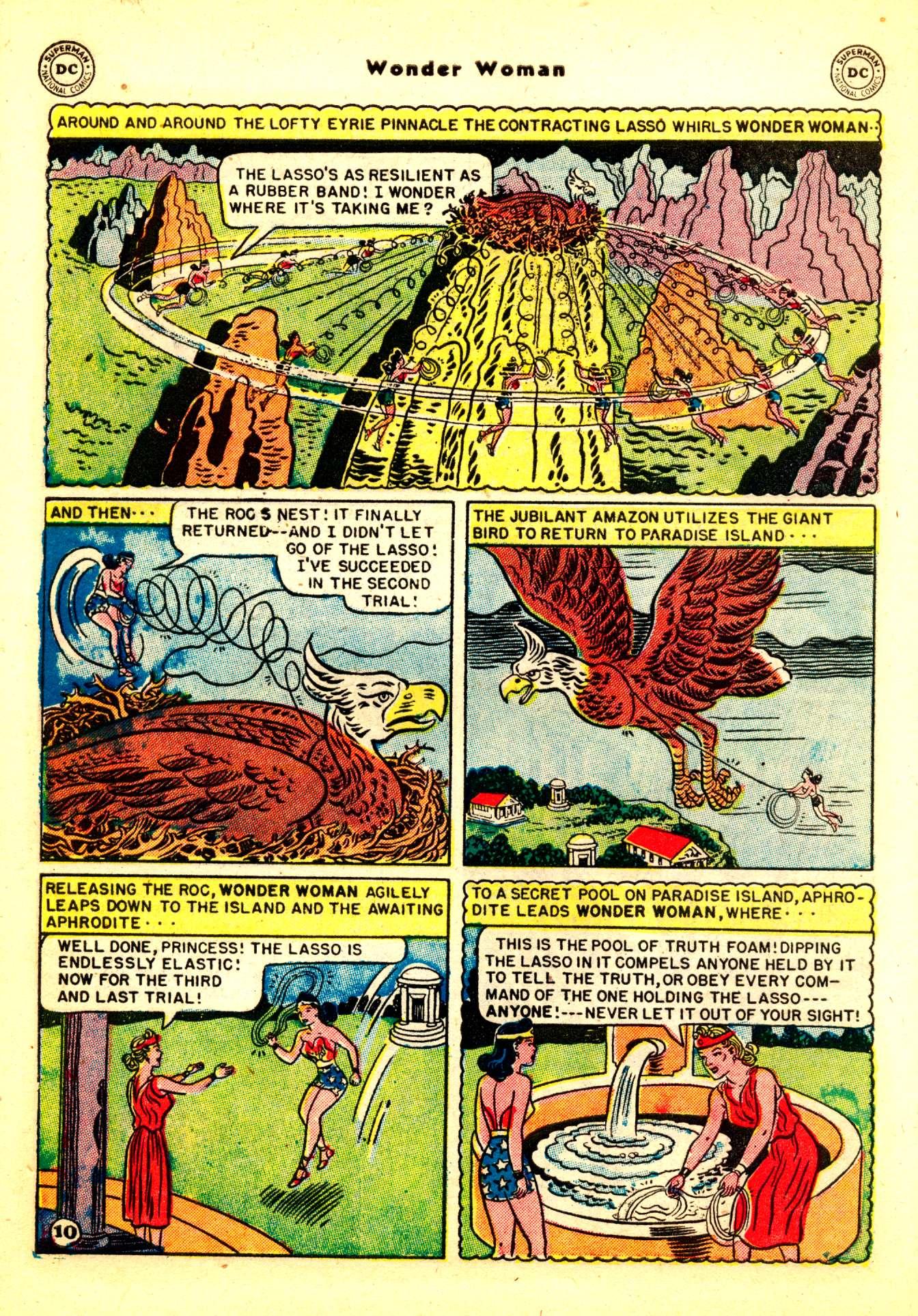 Read online Wonder Woman (1942) comic -  Issue #50 - 40