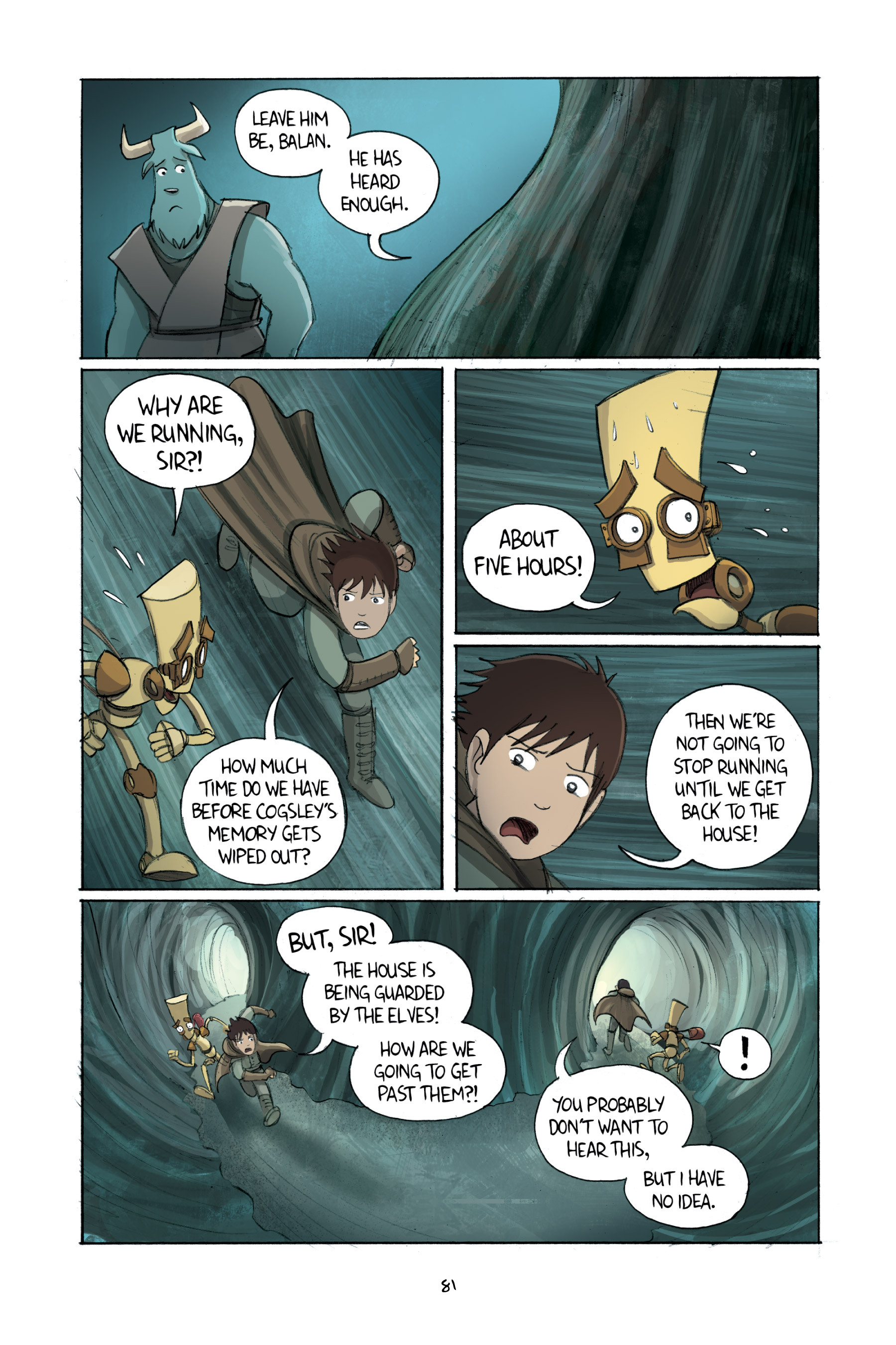 Read online Amulet comic -  Issue #2 - 82