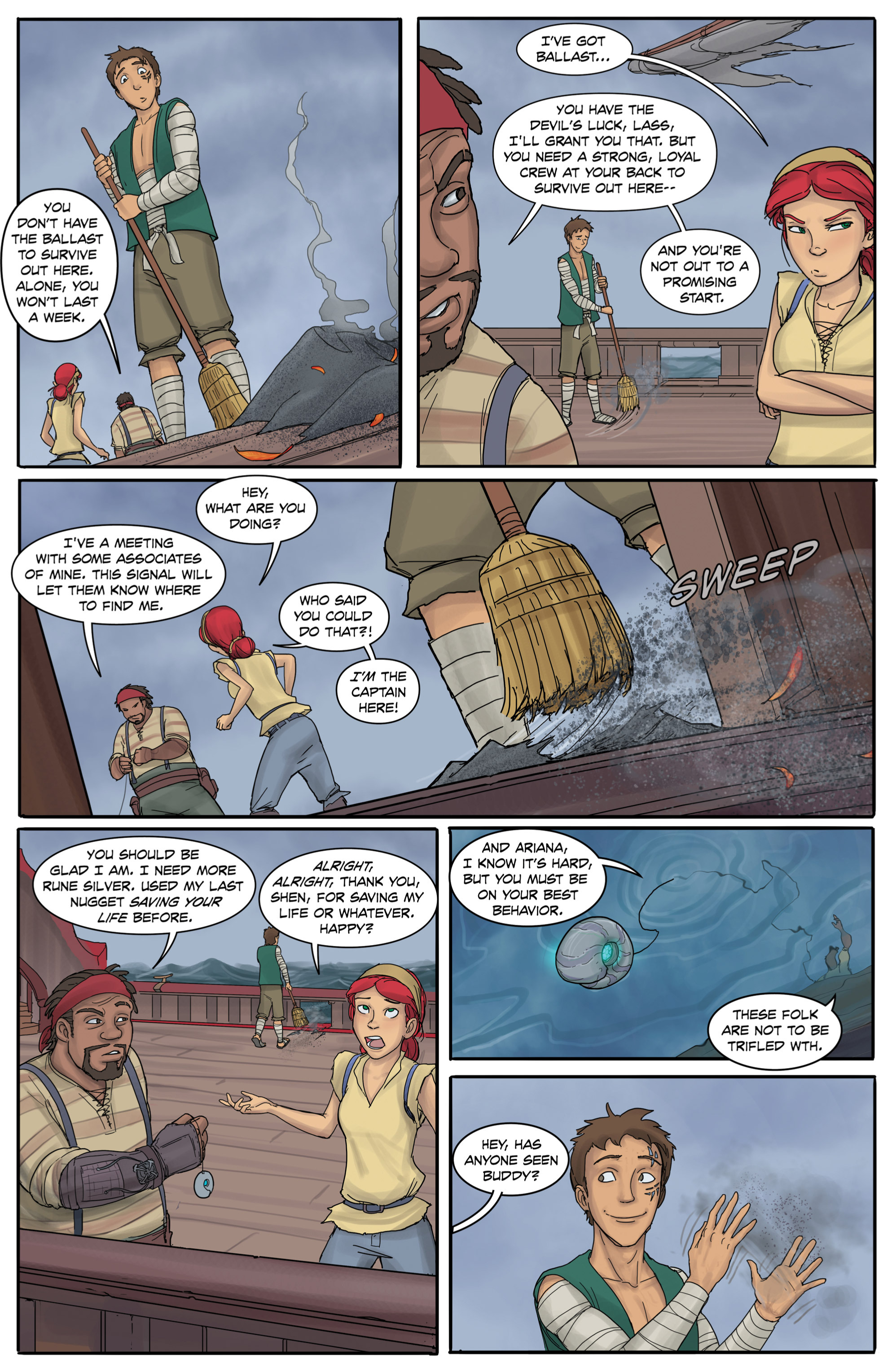 Read online Anne Bonnie comic -  Issue #3 - 8