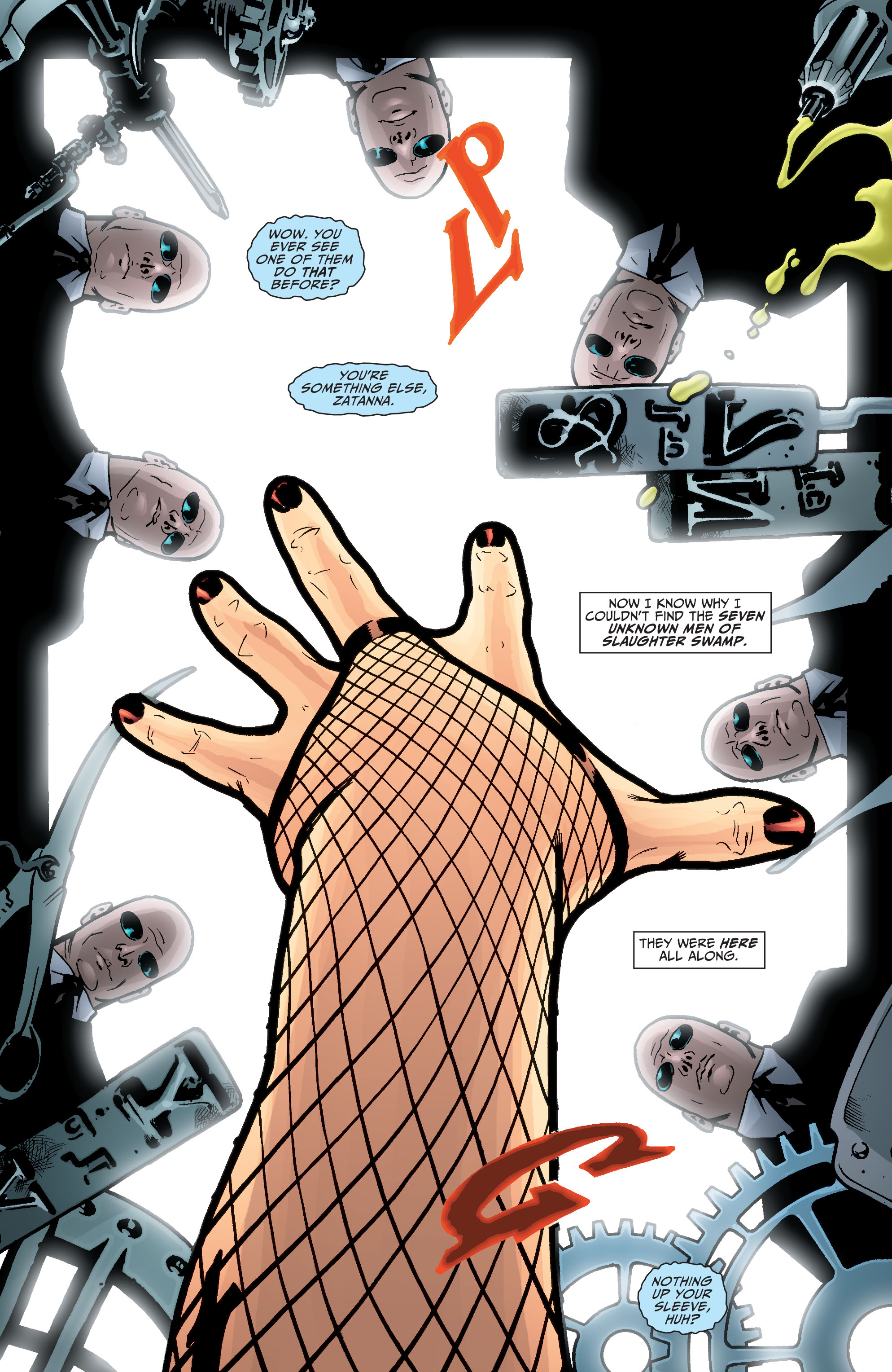 Read online Seven Soldiers: Zatanna comic -  Issue #4 - 17