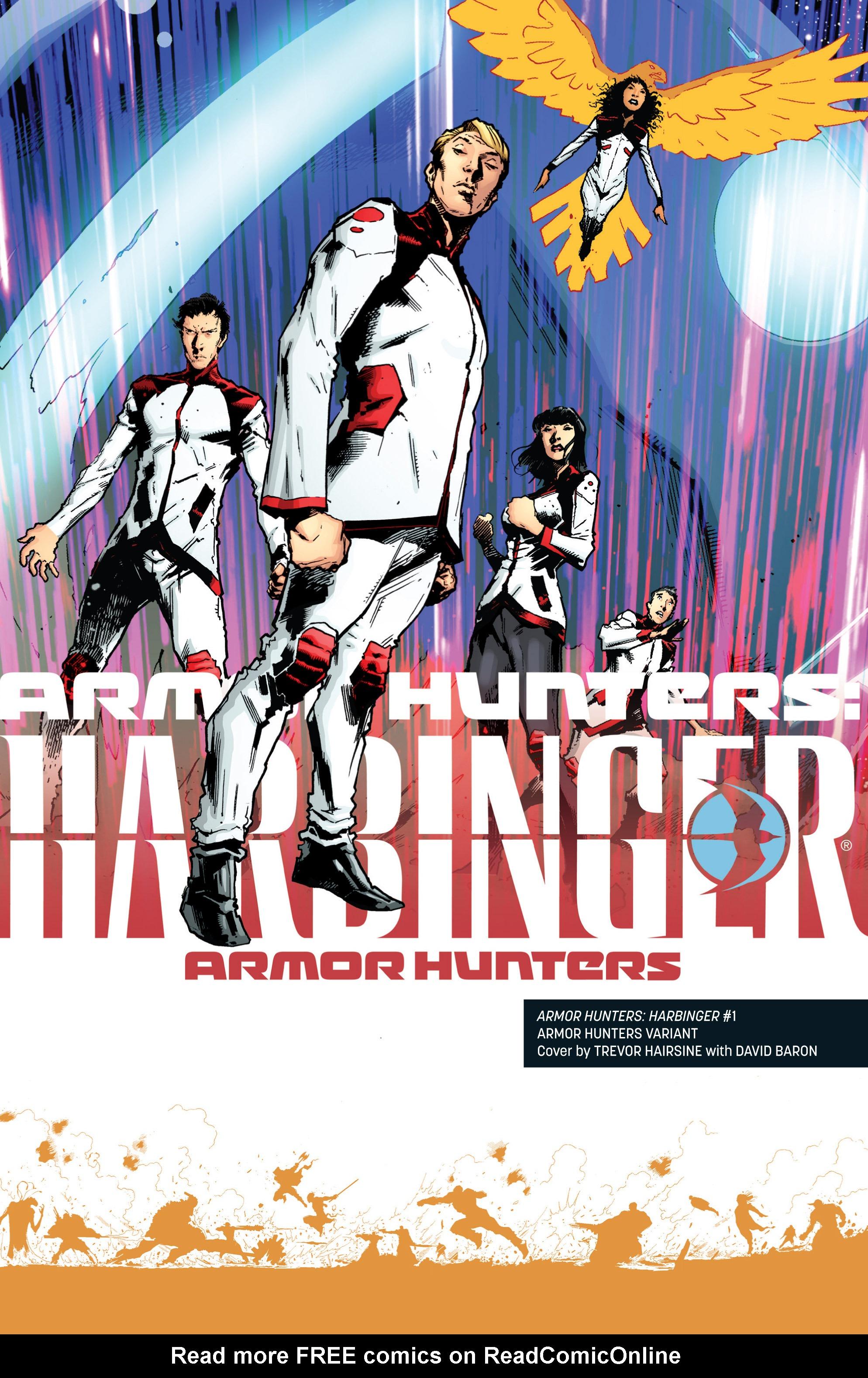 Read online Armor Hunters: Harbinger comic -  Issue # TPB - 107