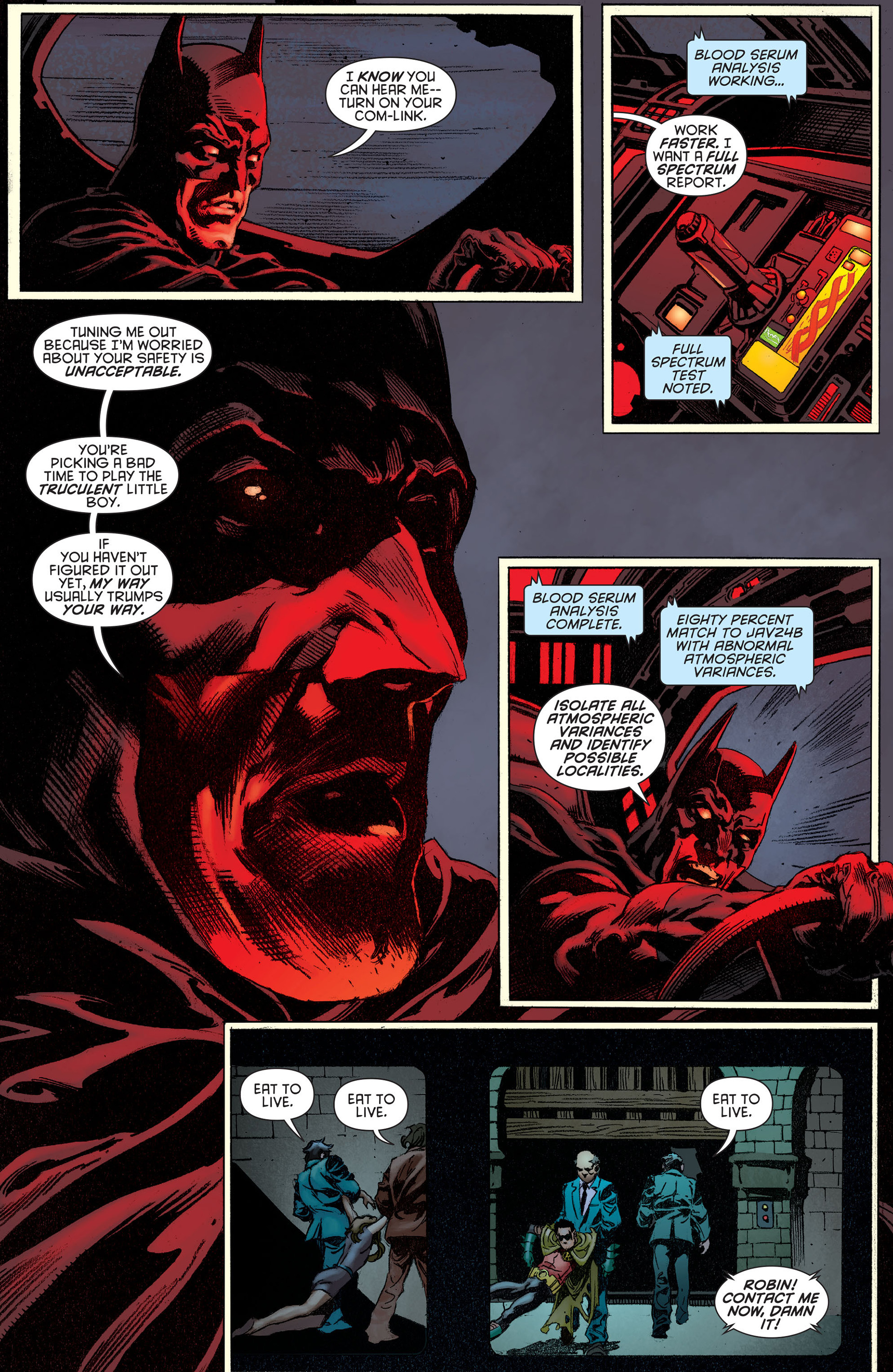 Read online Batman and Robin (2011) comic -  Issue #14 - 7