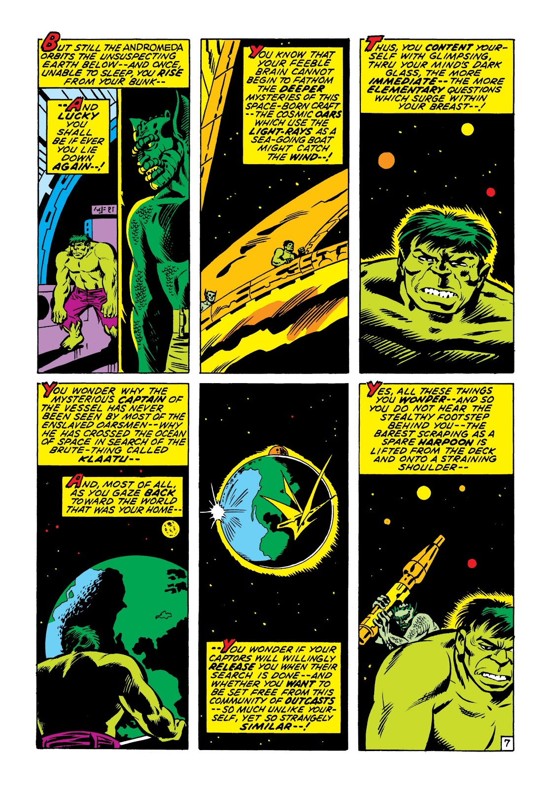 Read online Marvel Masterworks: The Incredible Hulk comic -  Issue # TPB 7 (Part 1) - 54