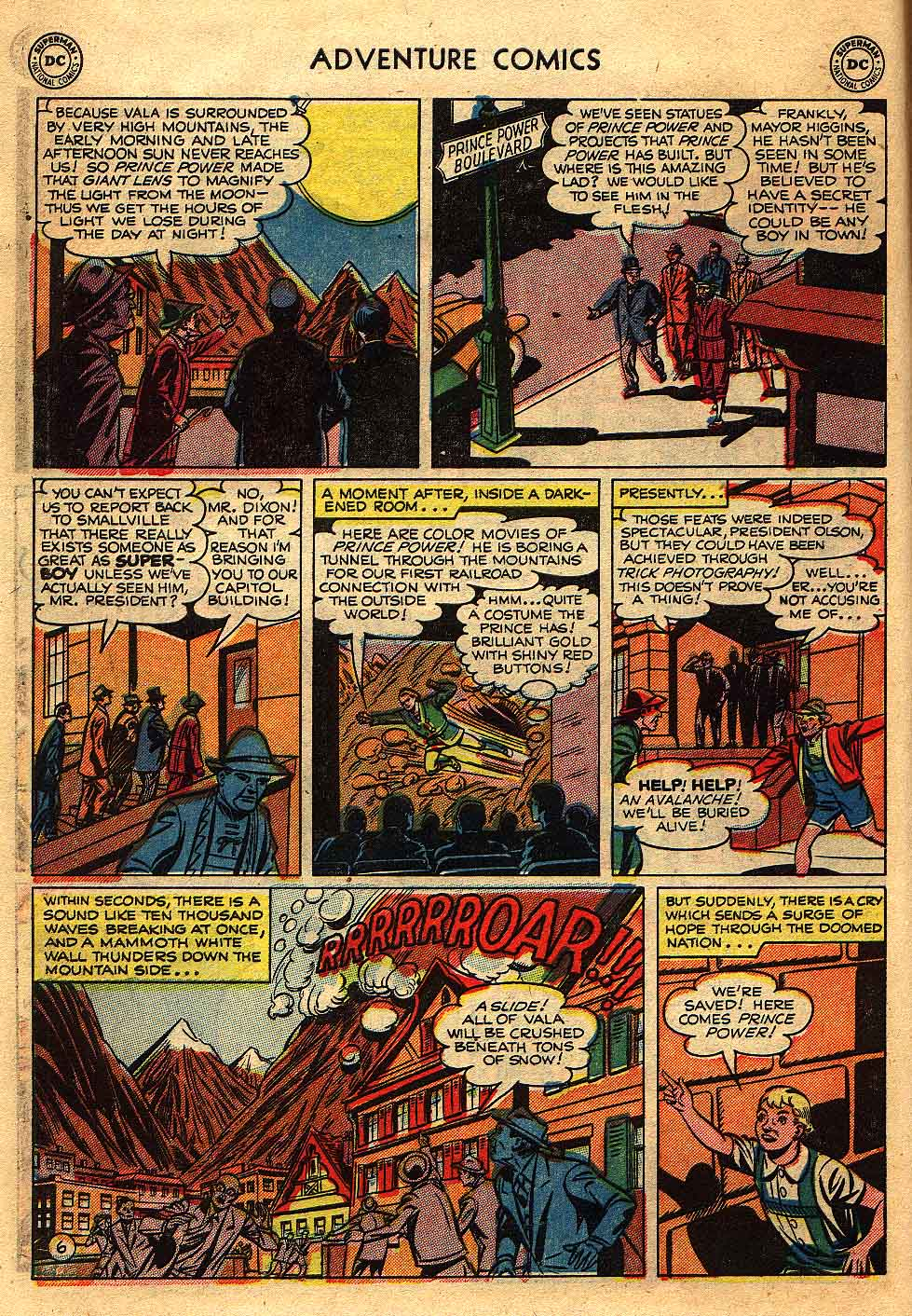 Read online Adventure Comics (1938) comic -  Issue #175 - 8