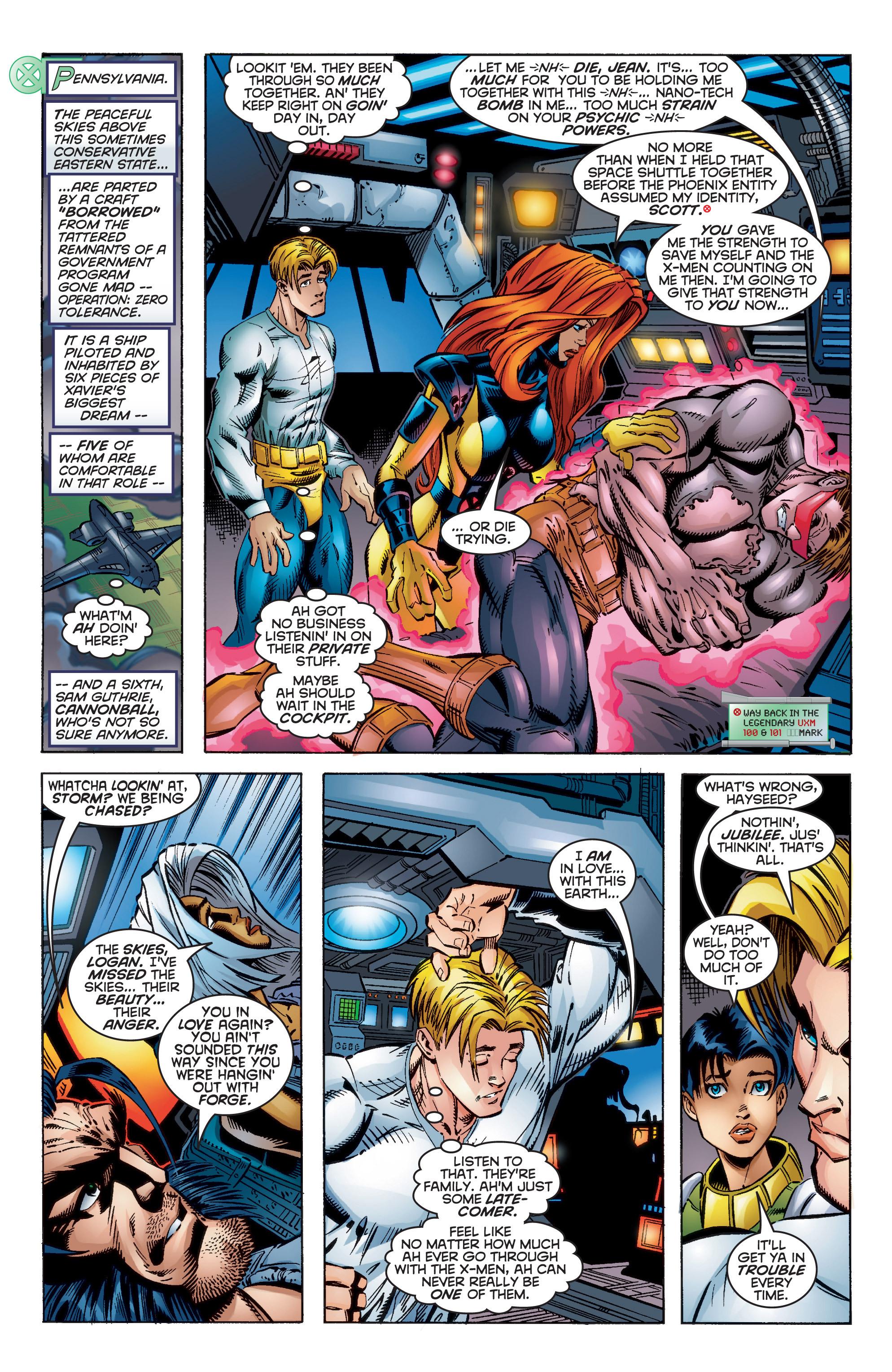 Read online Uncanny X-Men (1963) comic -  Issue #350 - 24