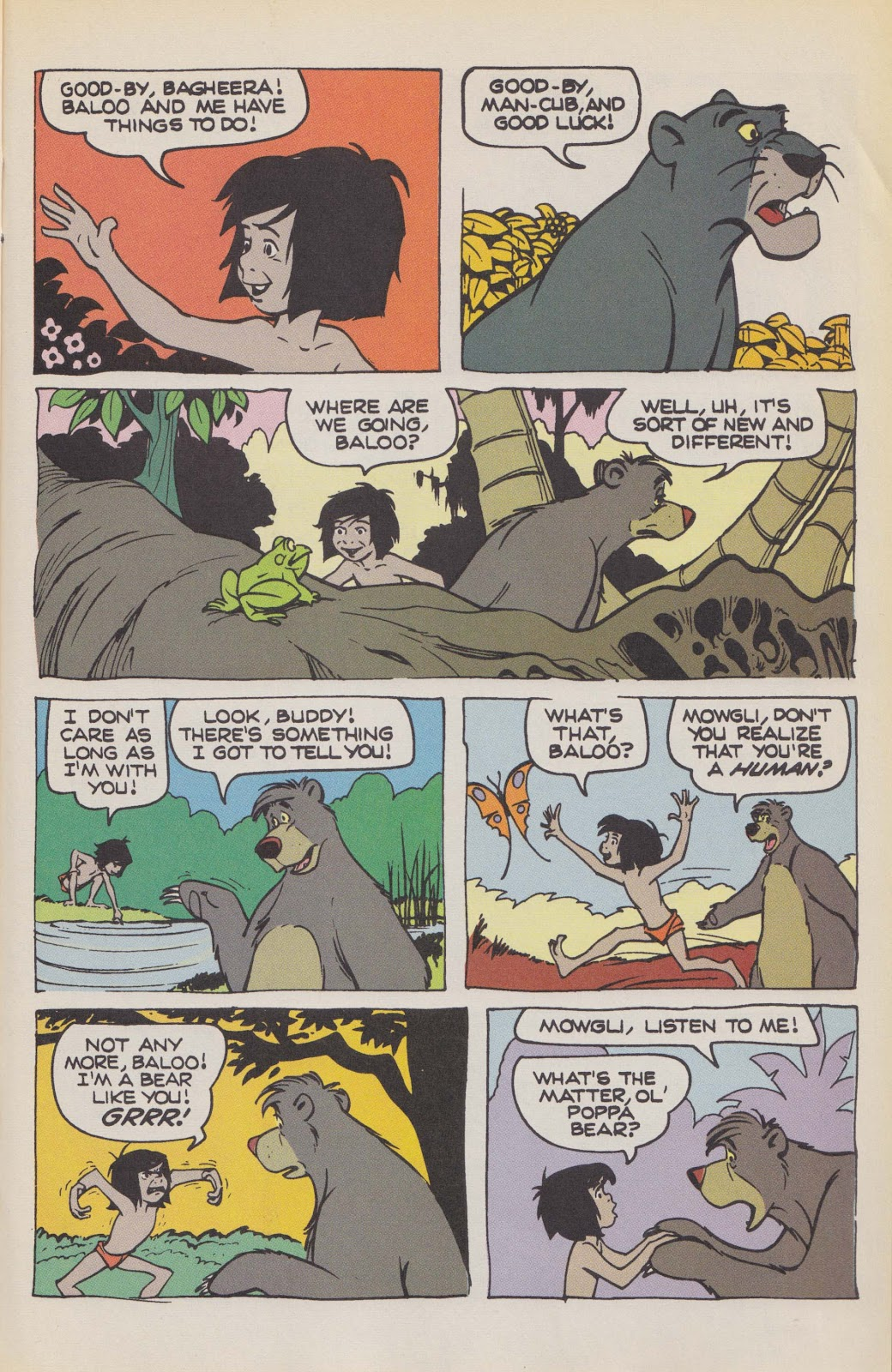 Read online The Jungle Book comic -  Issue # Full - 39