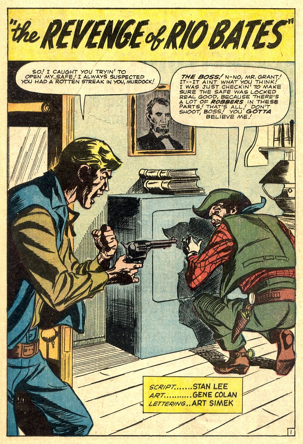 Kid Colt Outlaw issue 110 - Page 20