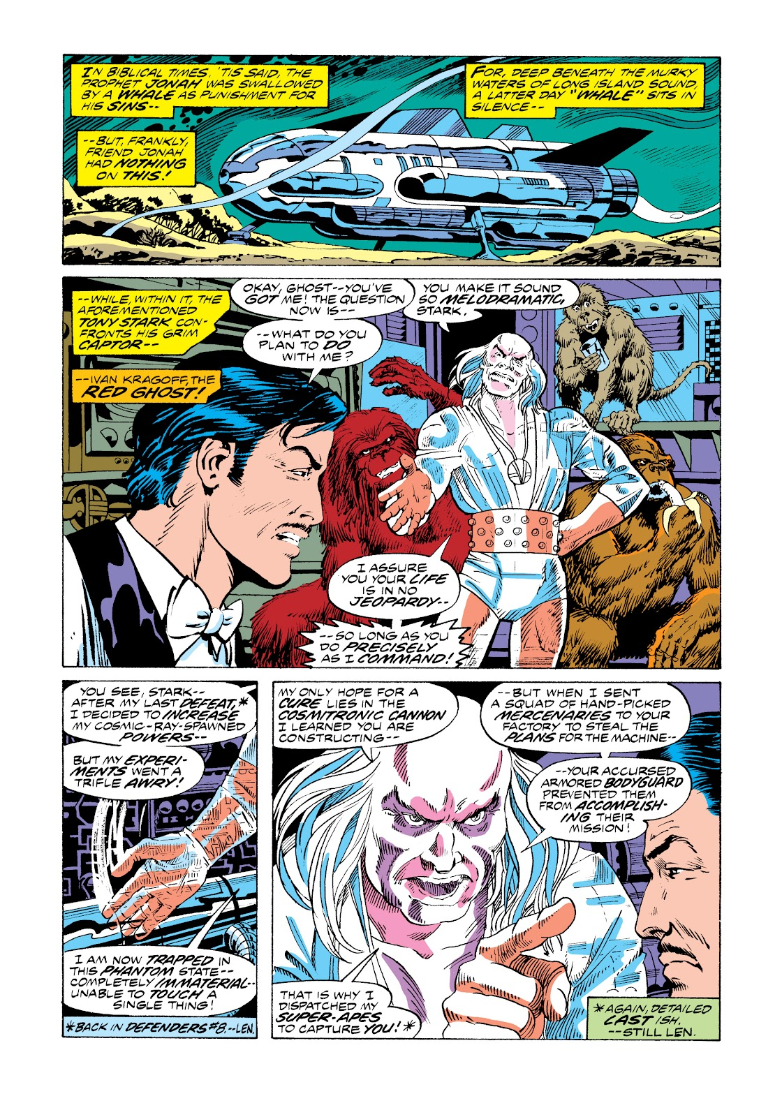 Read online Marvel Masterworks: The Invincible Iron Man comic -  Issue # TPB 11 (Part 1) - 33