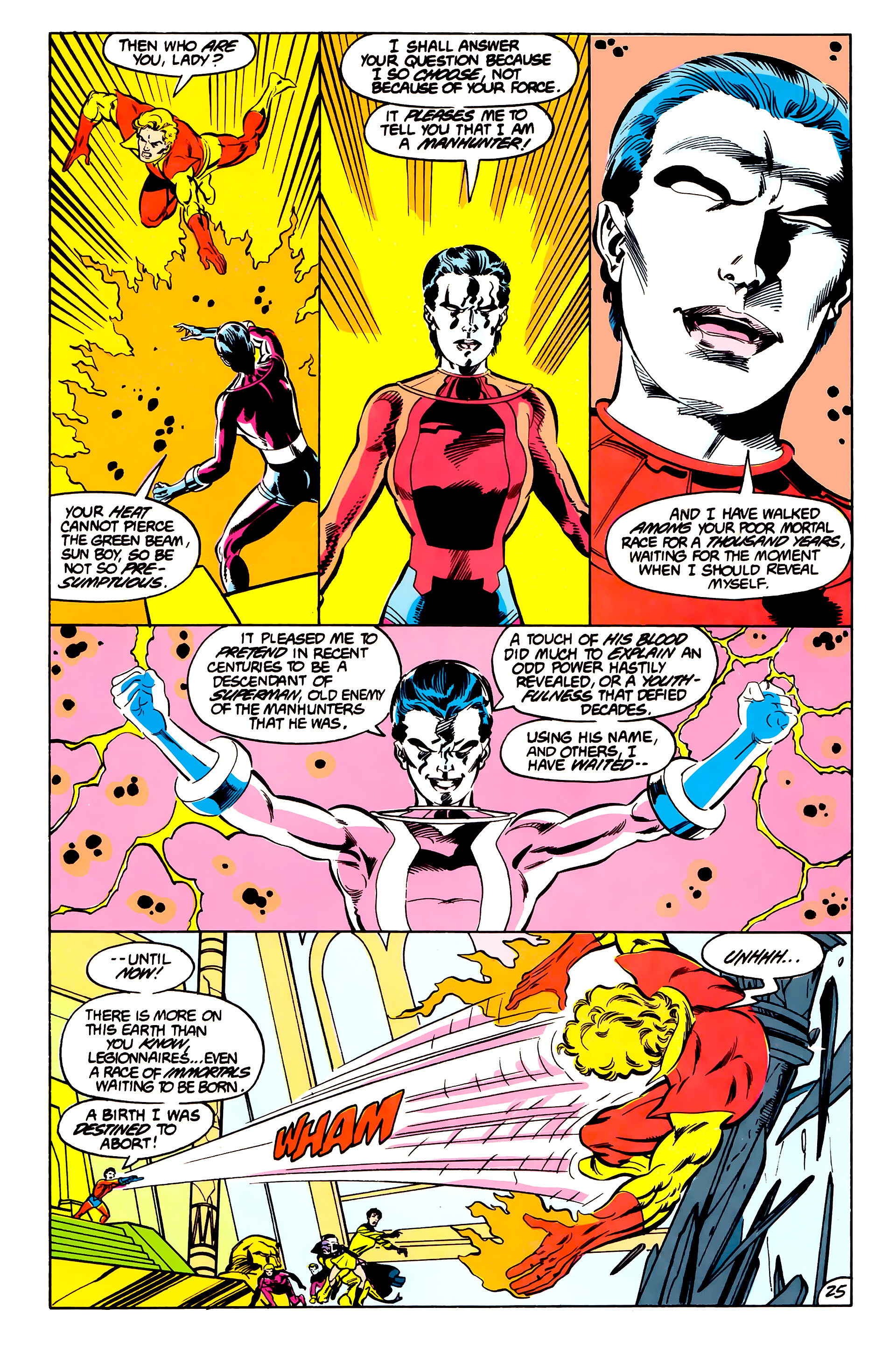 Legion of Super-Heroes (1984) 42 Page 25