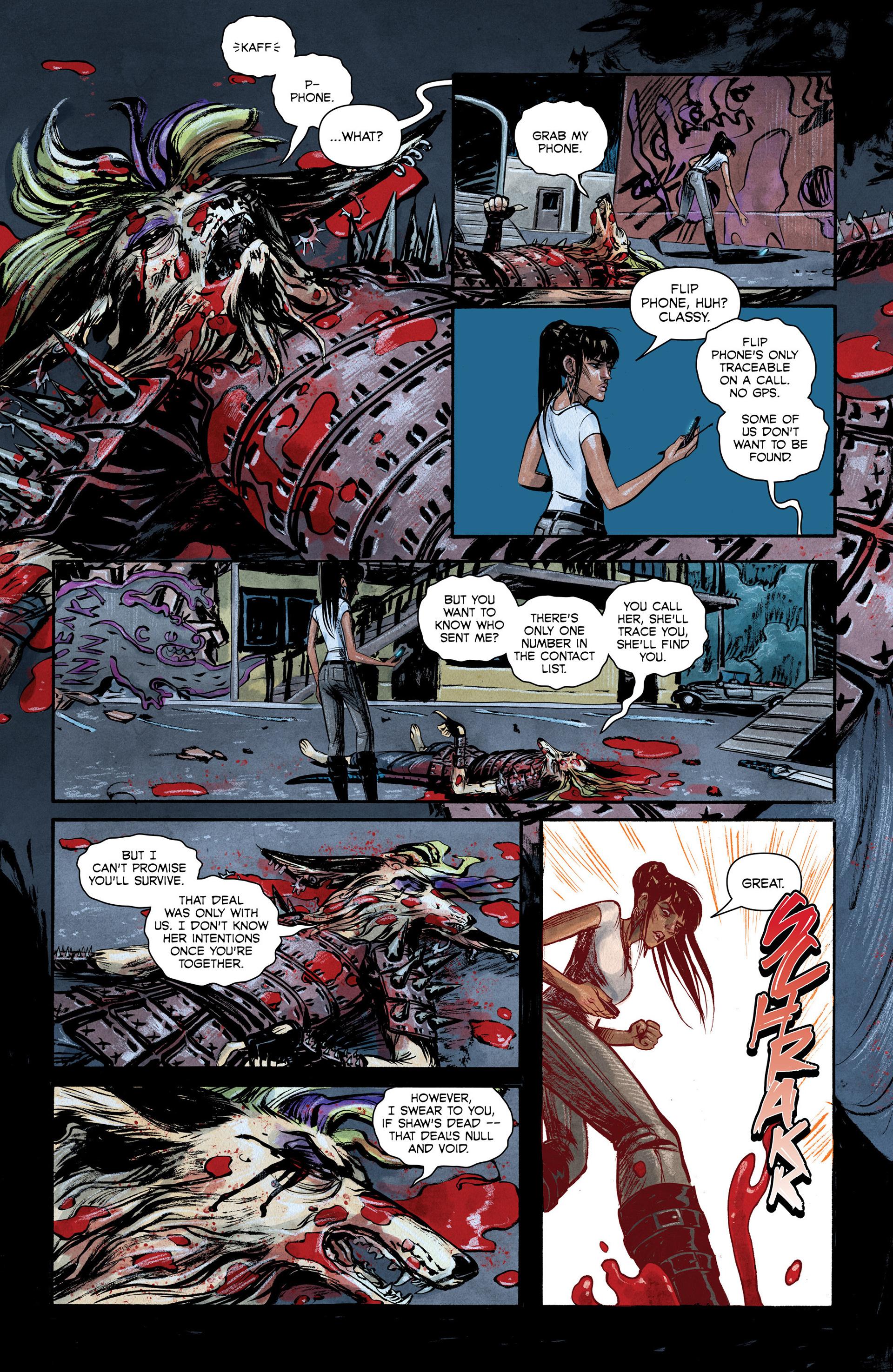 Read online Shutter comic -  Issue #6 - 17