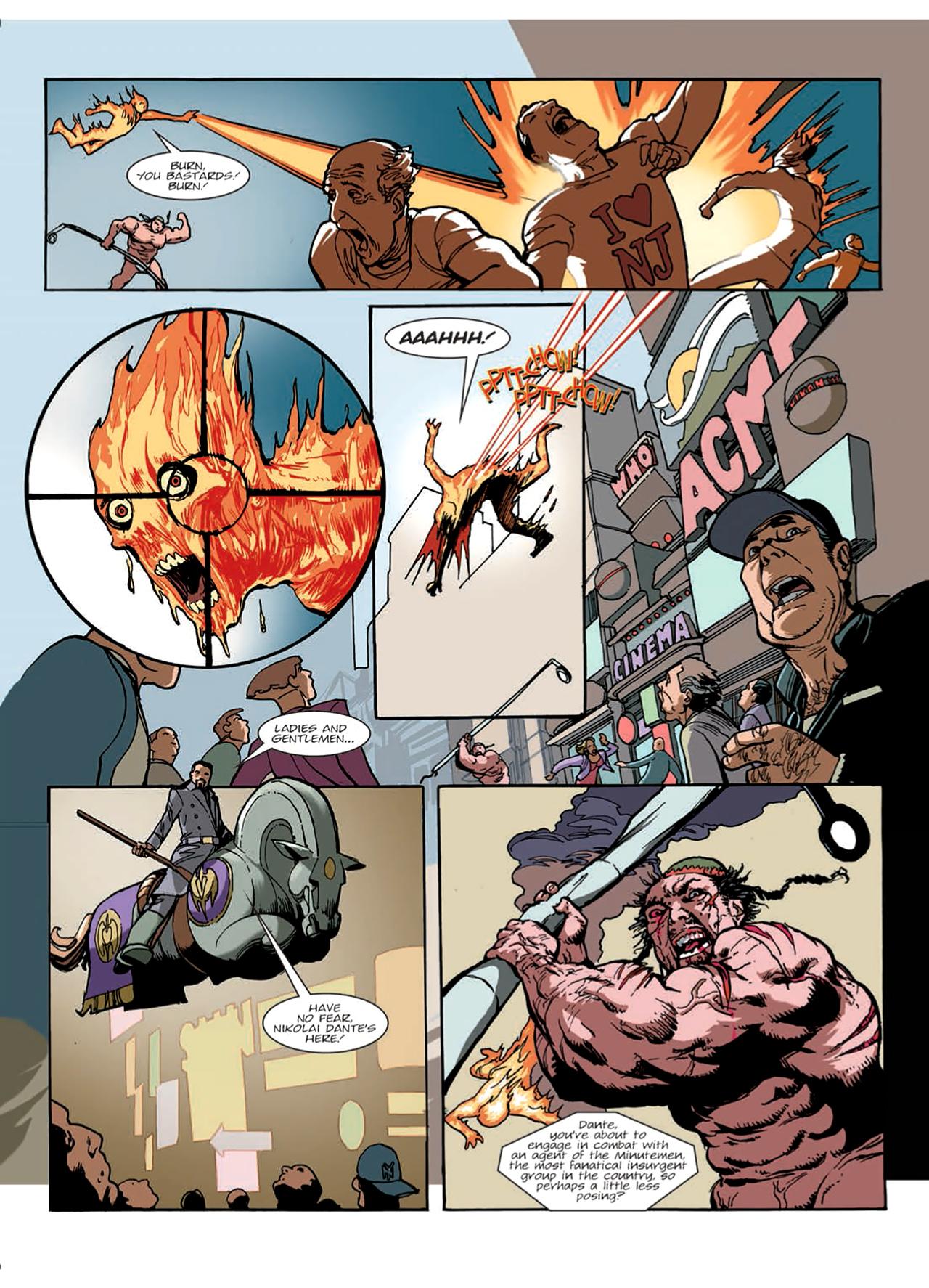 Read online Nikolai Dante comic -  Issue # TPB 9 - 10