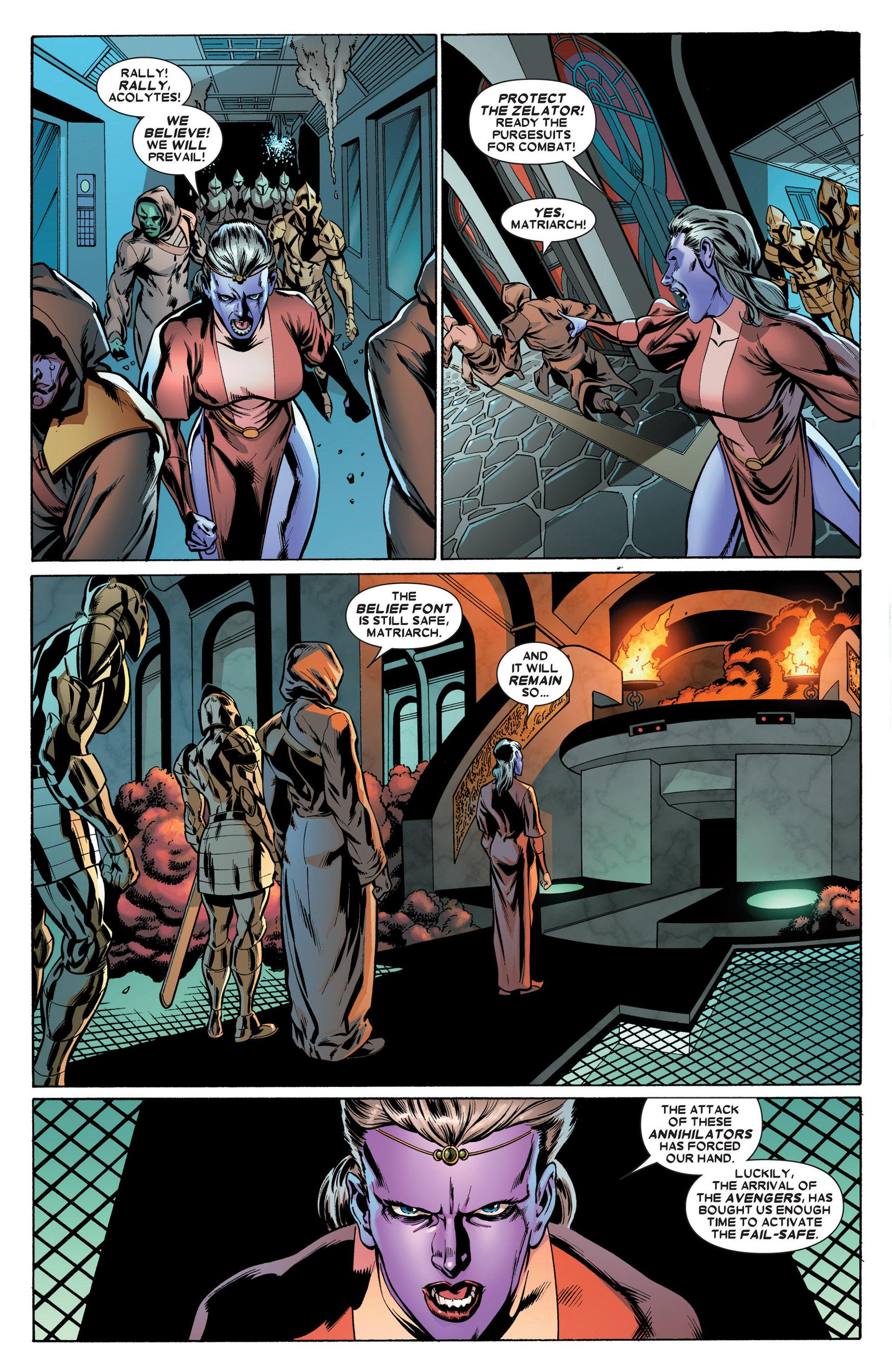 Read online Annihilators: Earthfall comic -  Issue #2 - 7