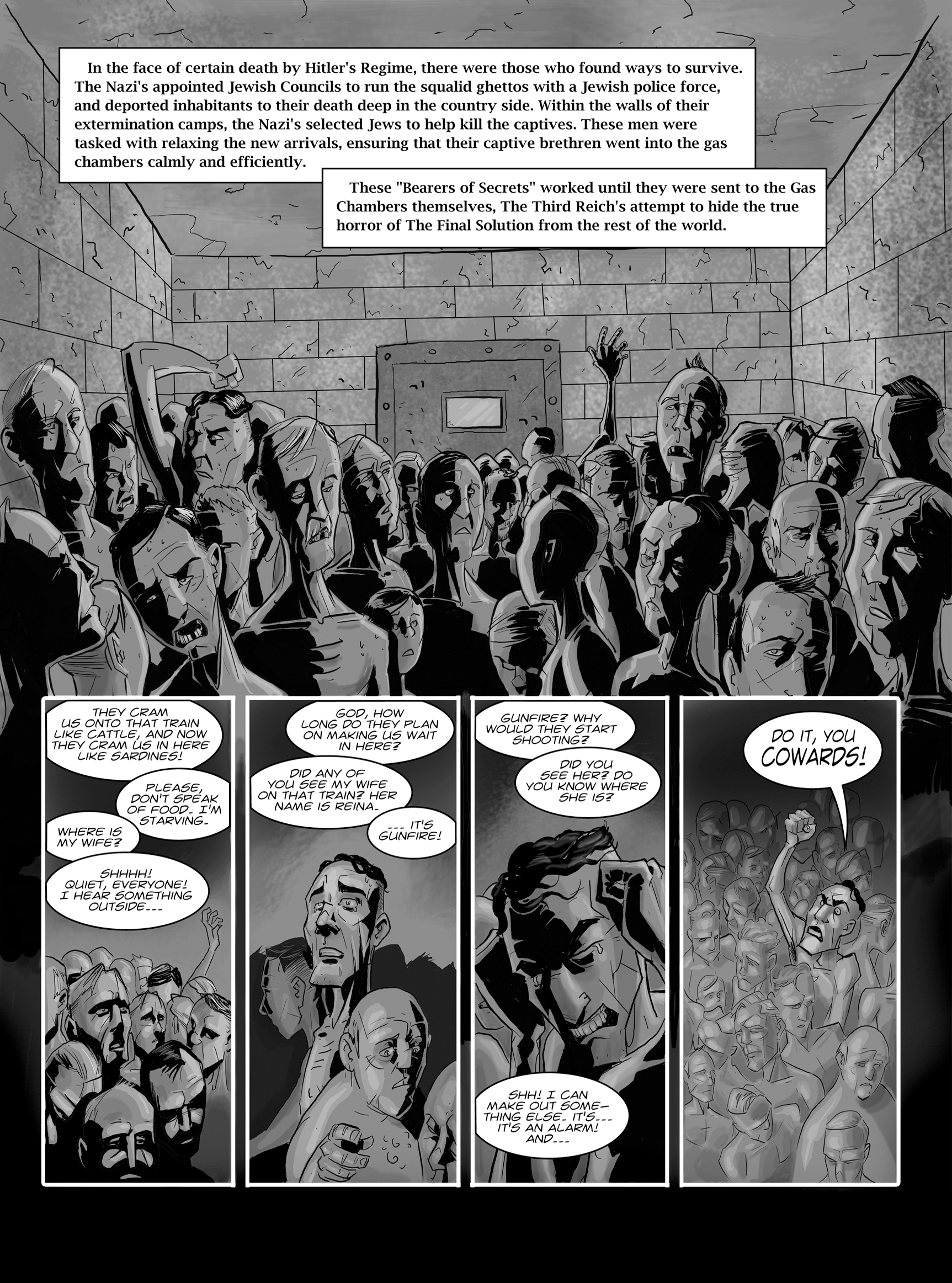 Read online FUBAR comic -  Issue #1 - 14