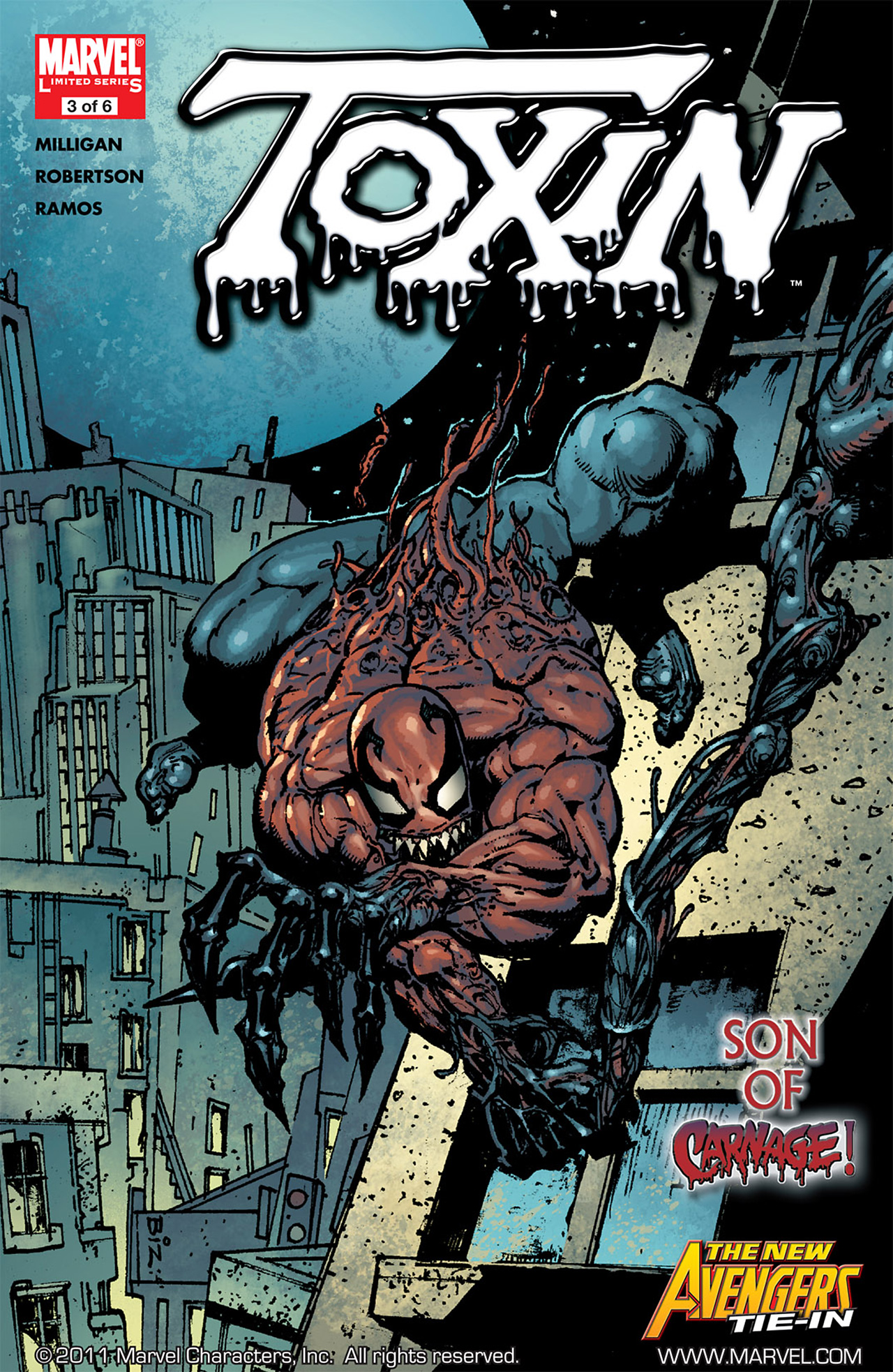 Read online Toxin comic -  Issue #3 - 1