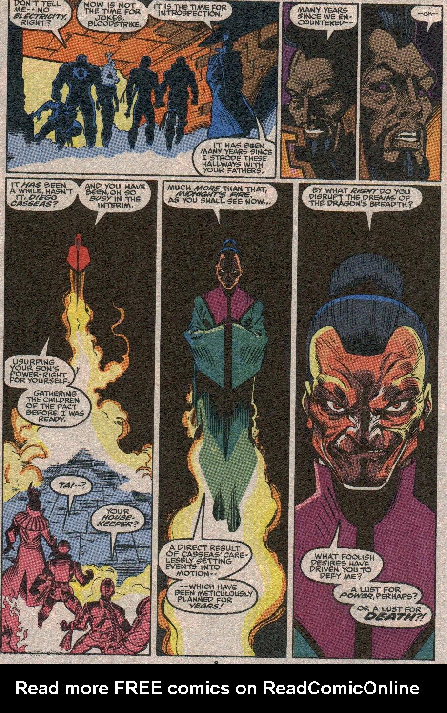 The New Warriors Issue #23 #27 - English 6