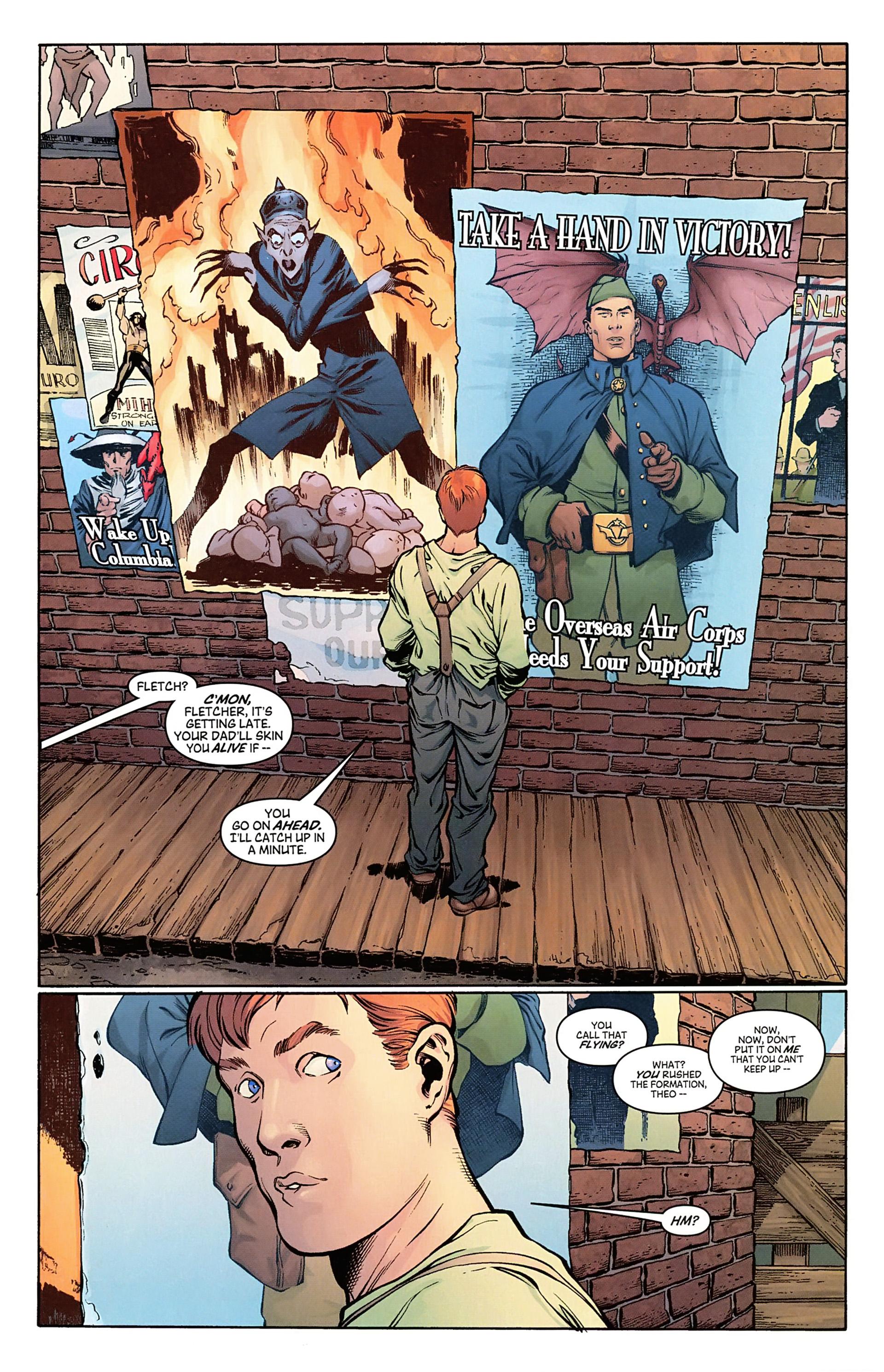 Read online Arrowsmith comic -  Issue #1 - 9